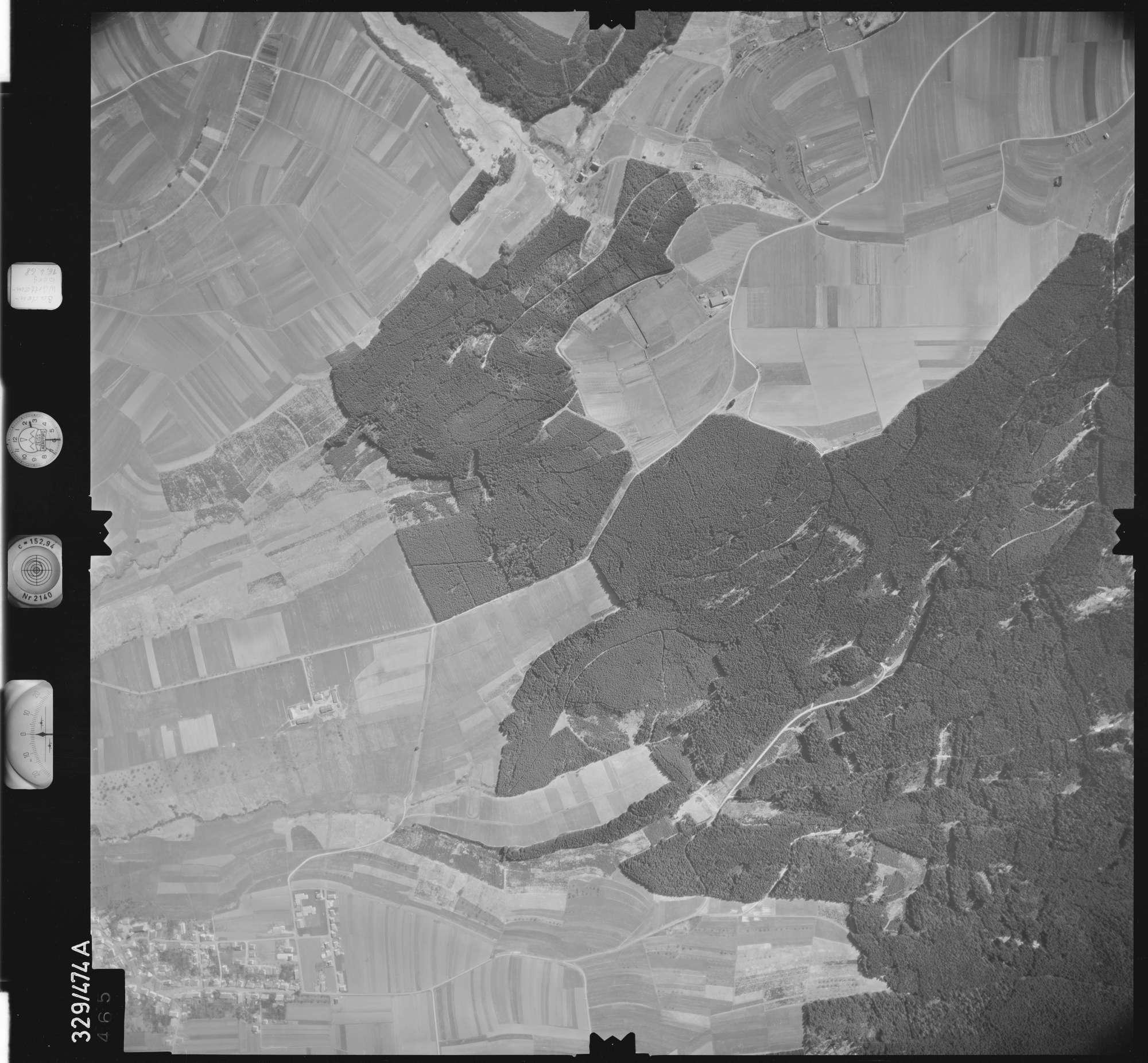 Luftbild: Film 89 Bildnr. 465, Bild 1