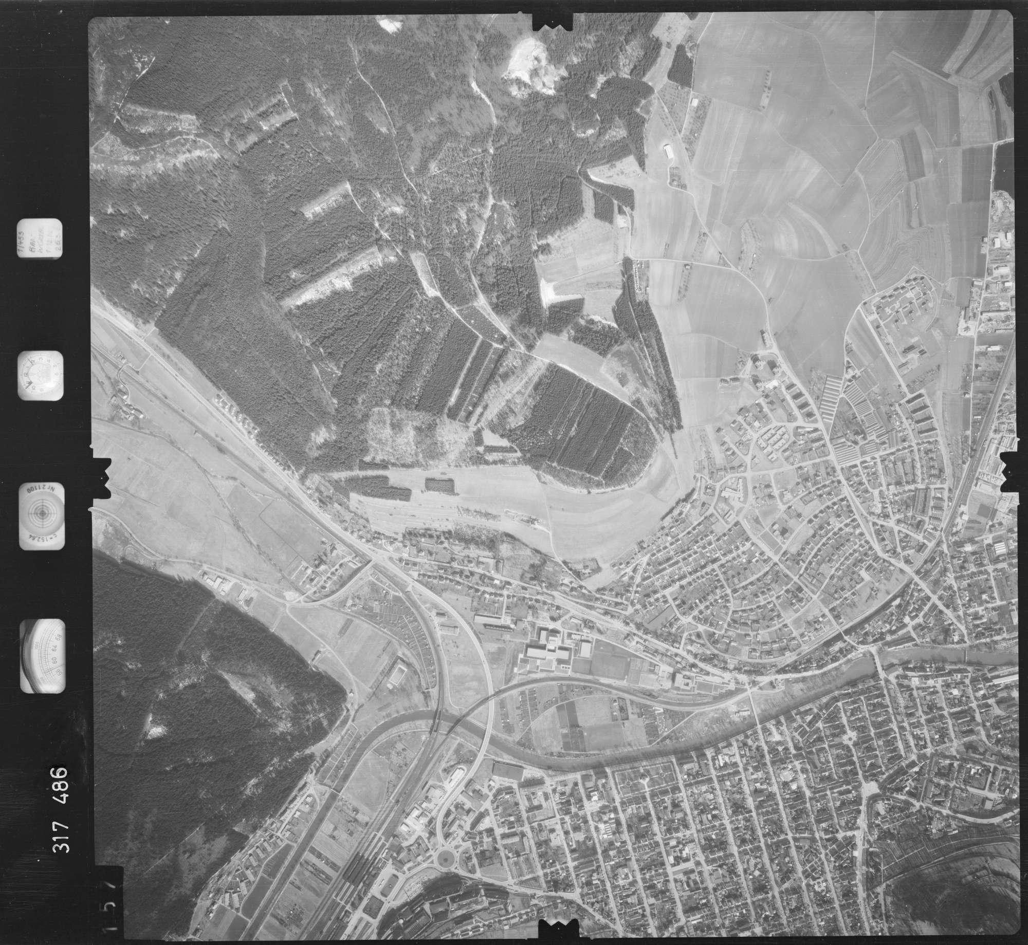 Luftbild: Film 57 Bildnr. 157, Bild 1