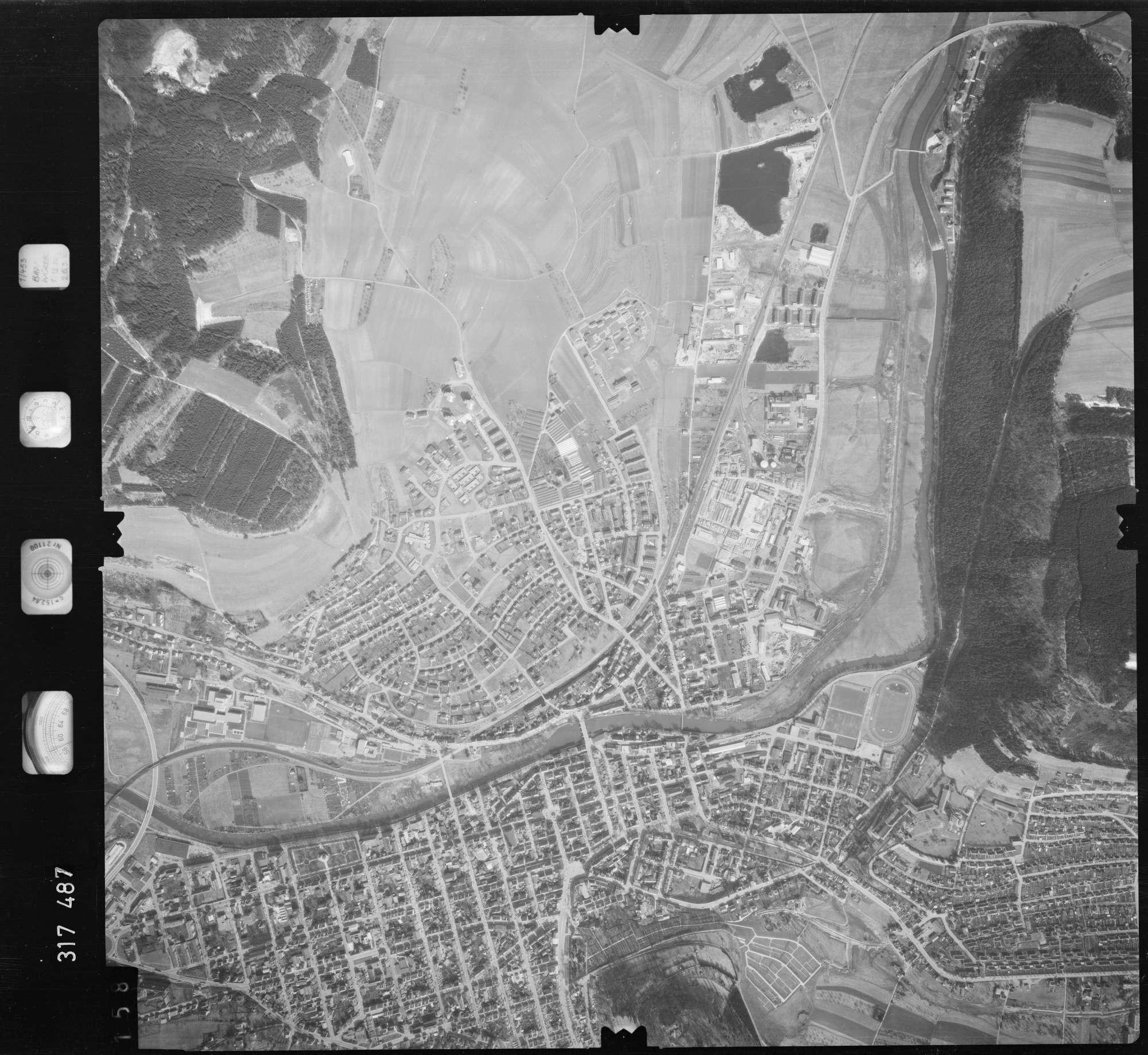 Luftbild: Film 57 Bildnr. 158, Bild 1