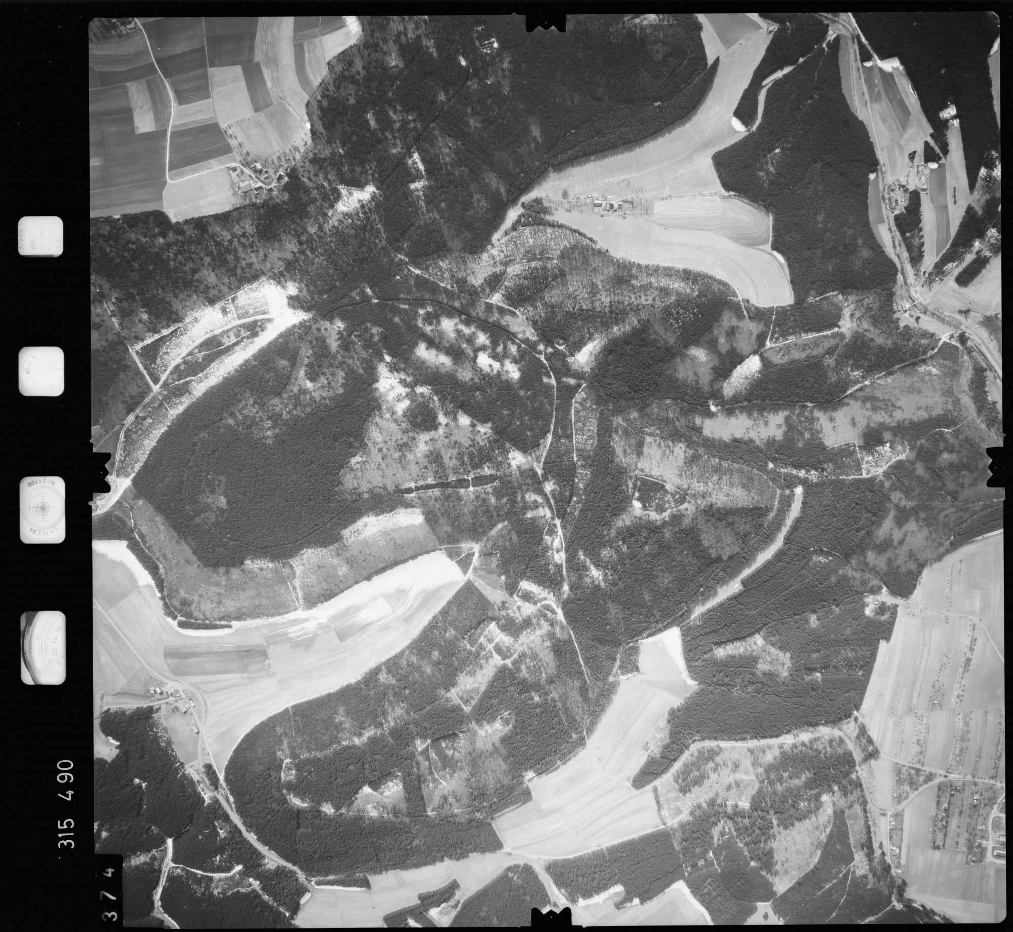 Luftbild: Film 58 Bildnr. 374, Bild 1
