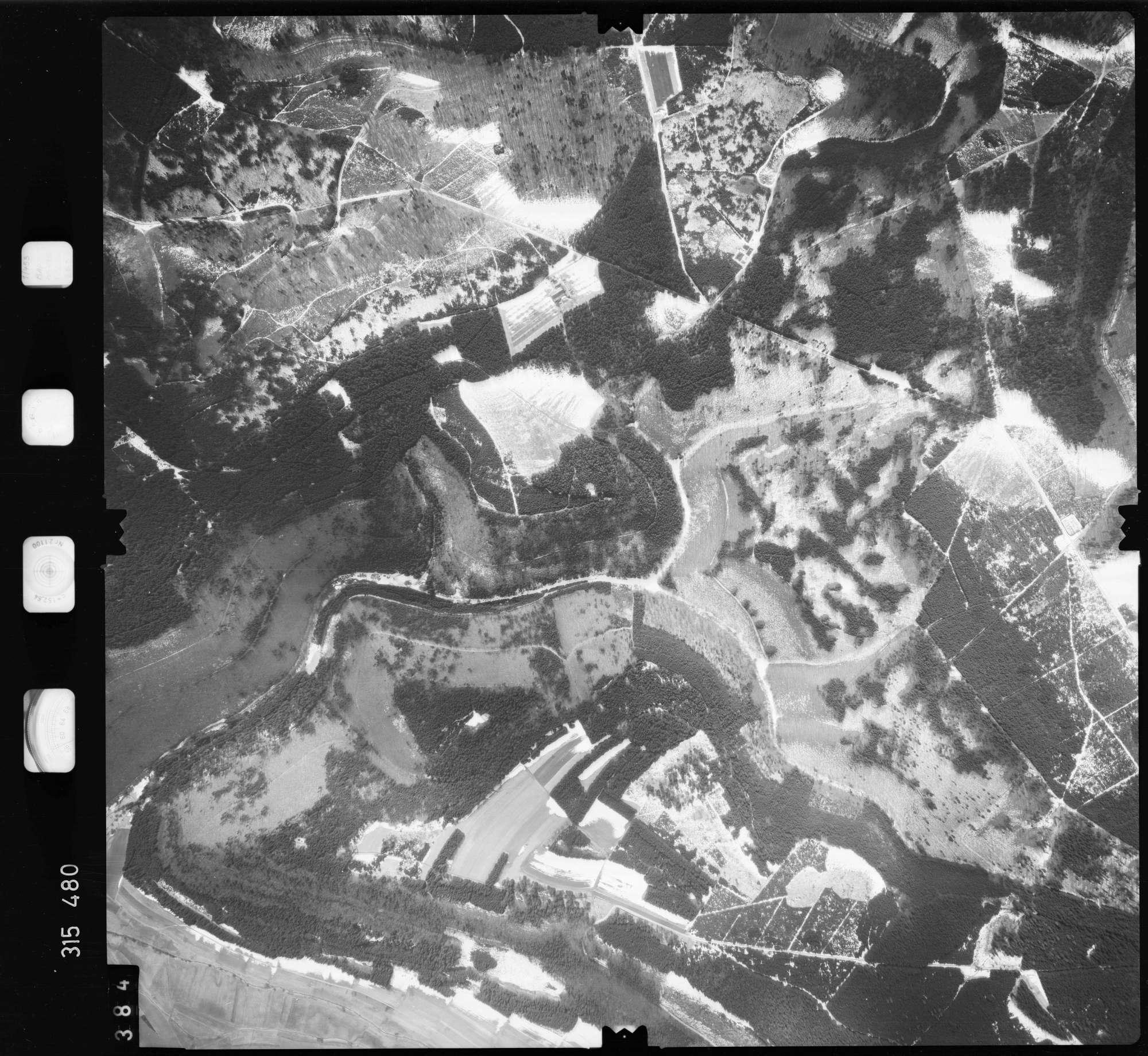 Luftbild: Film 58 Bildnr. 384, Bild 1