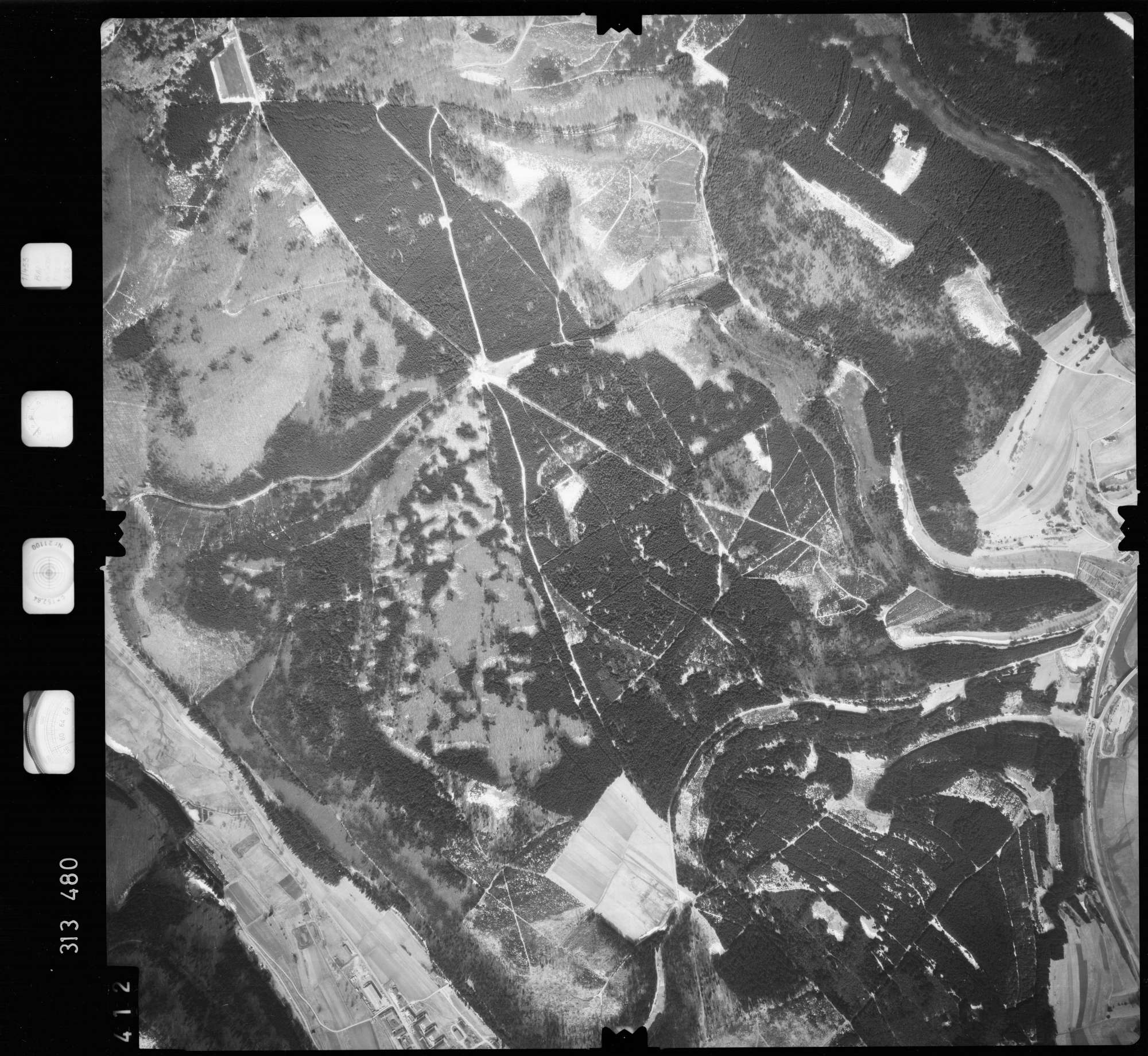 Luftbild: Film 58 Bildnr. 412, Bild 1