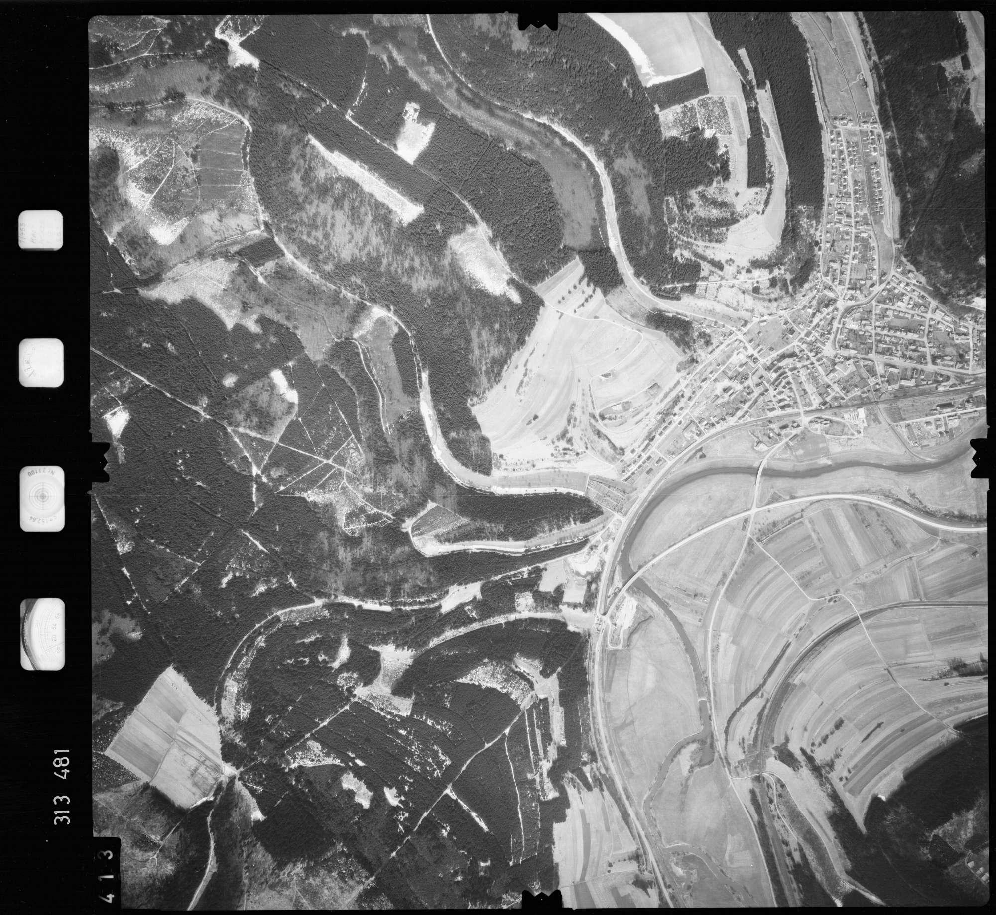 Luftbild: Film 58 Bildnr. 413, Bild 1