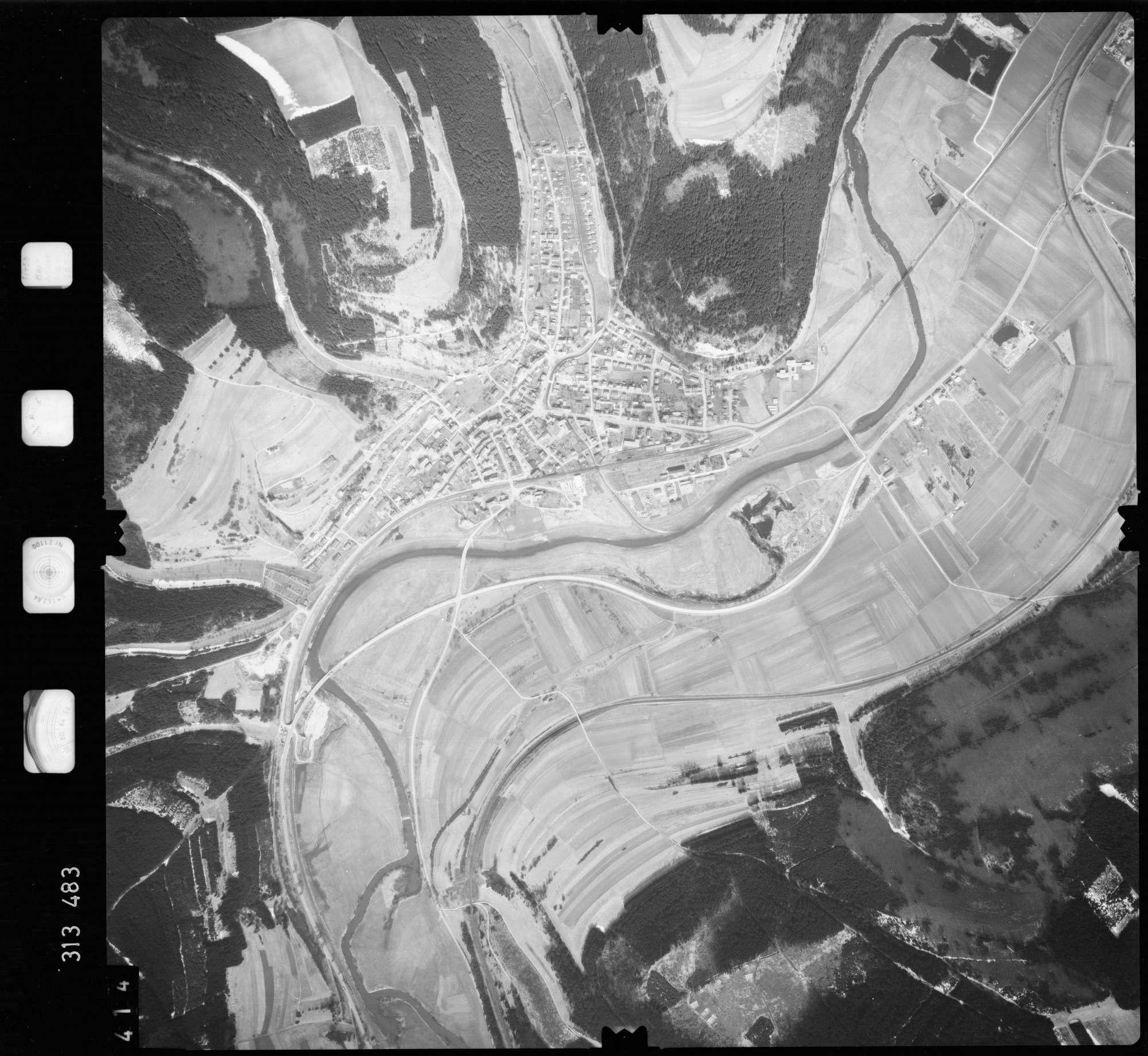 Luftbild: Film 58 Bildnr. 414, Bild 1