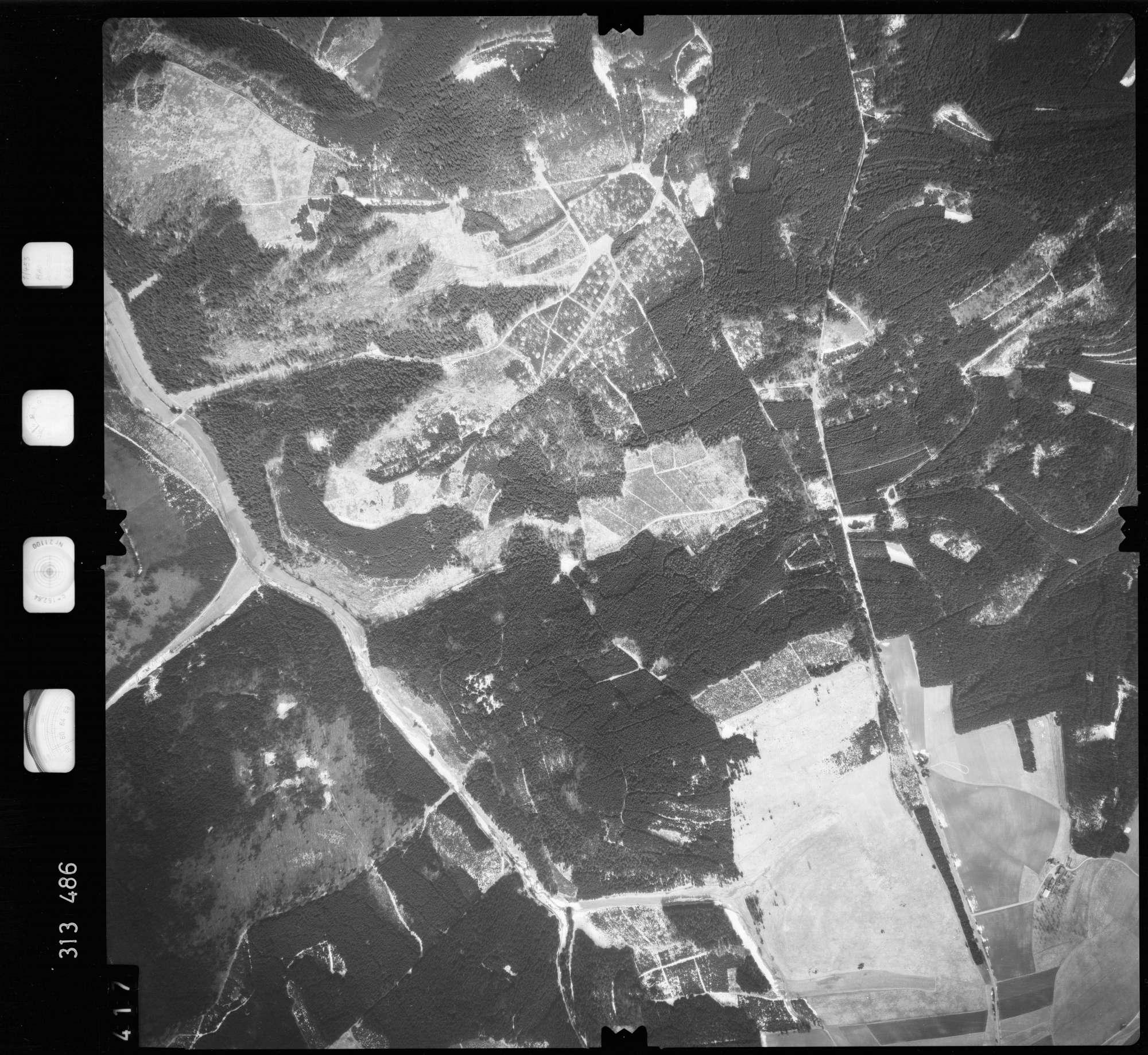 Luftbild: Film 58 Bildnr. 417, Bild 1