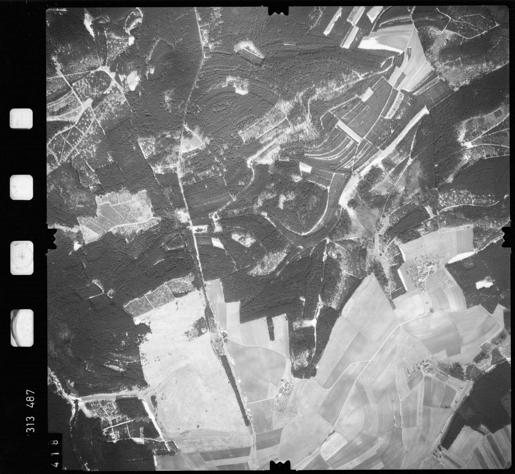Luftbild: Film 58 Bildnr. 418, Bild 1