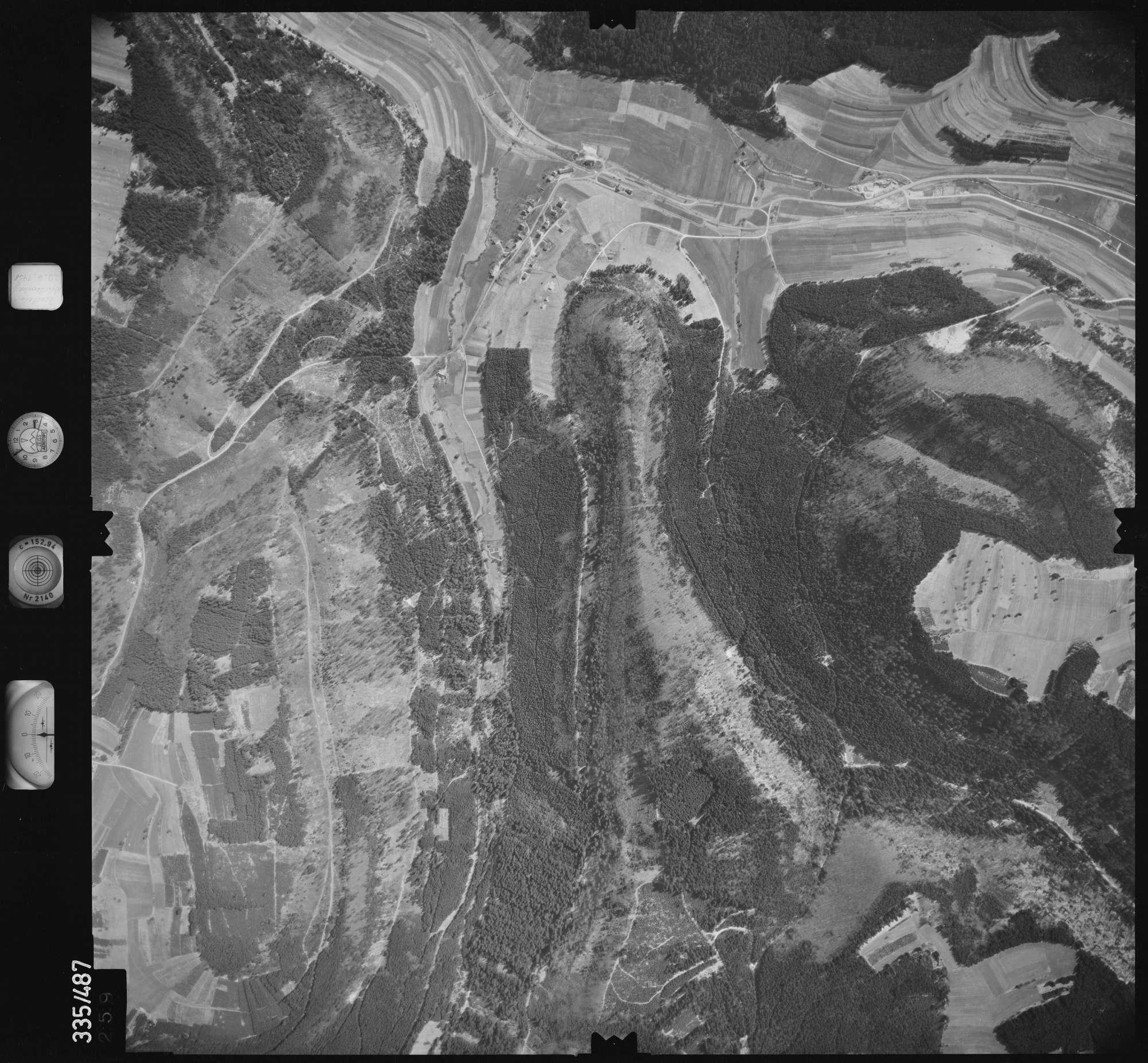 Luftbild: Film 15 Bildnr. 259, Bild 1