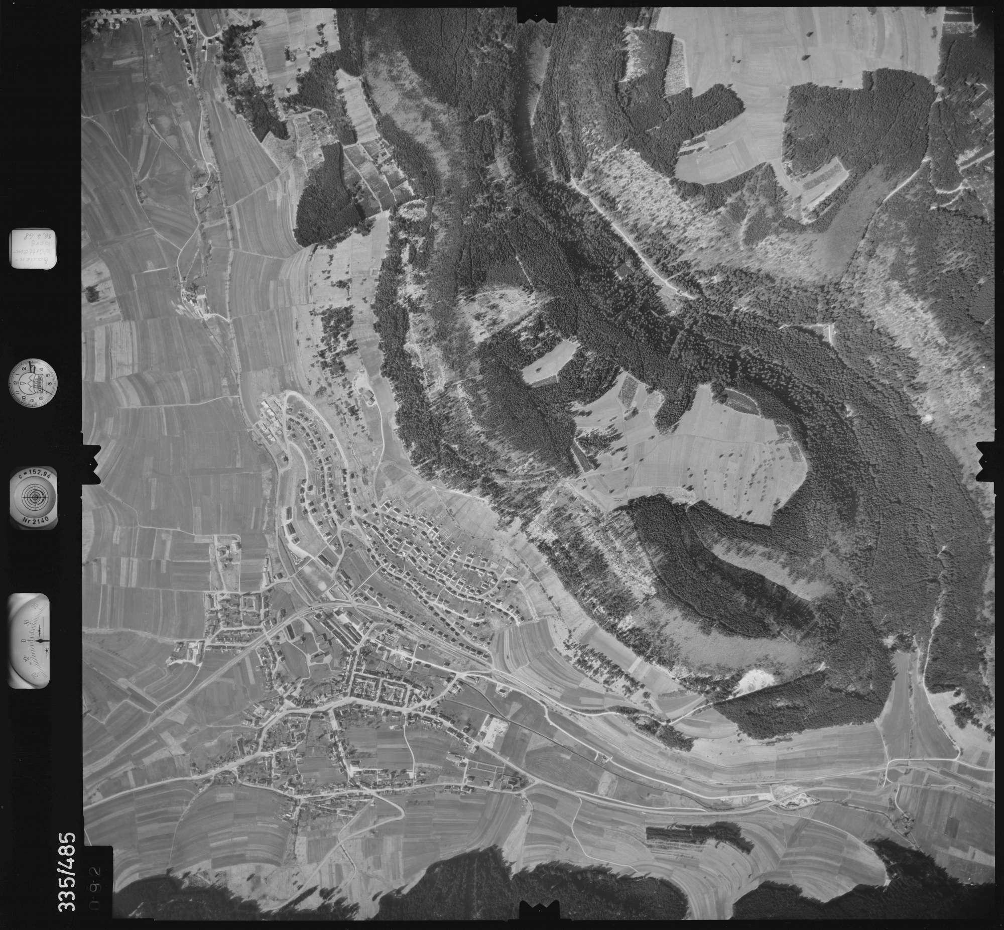 Luftbild: Film 49 Bildnr. 92, Bild 1