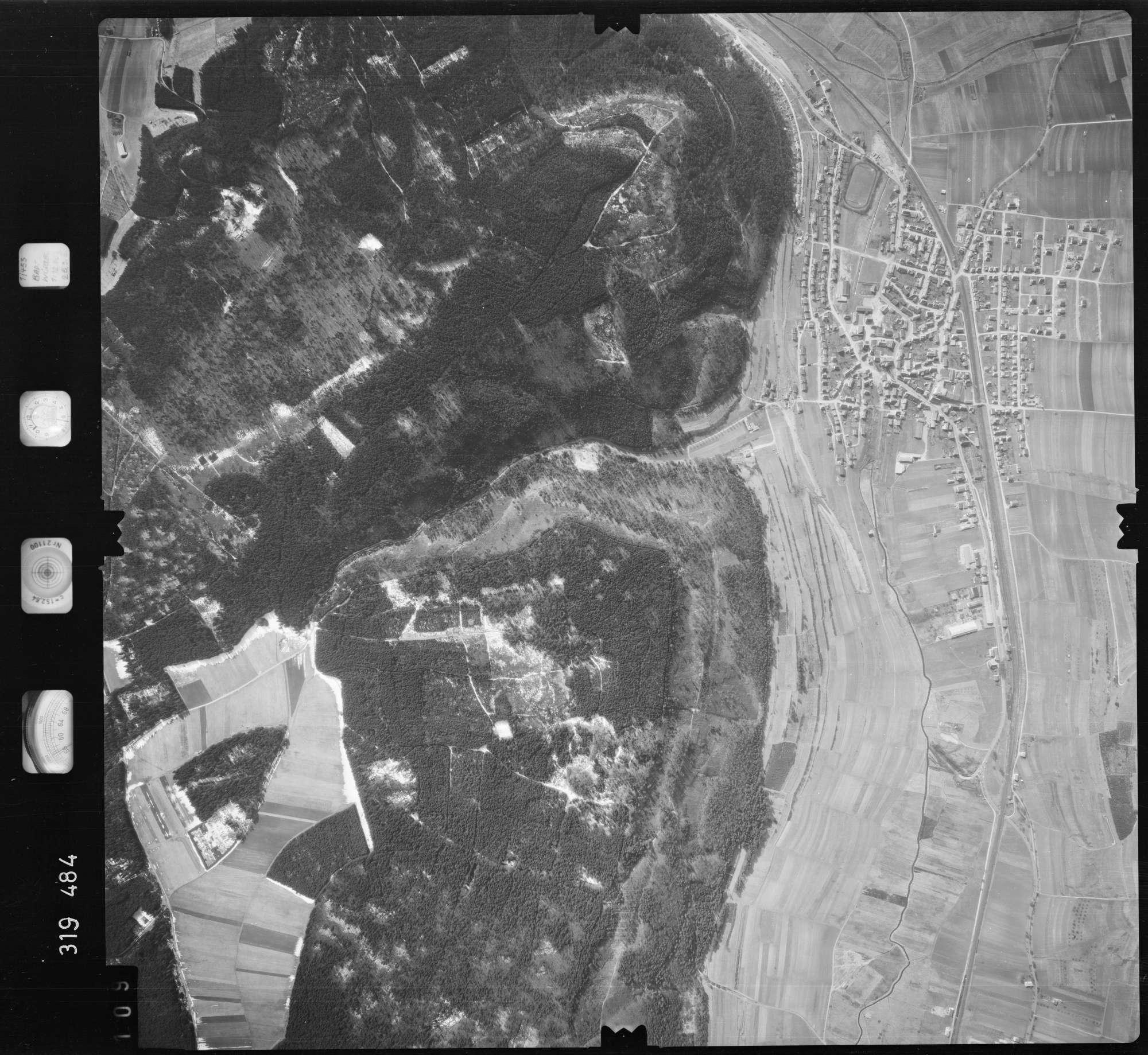 Luftbild: Film 57 Bildnr. 109, Bild 1