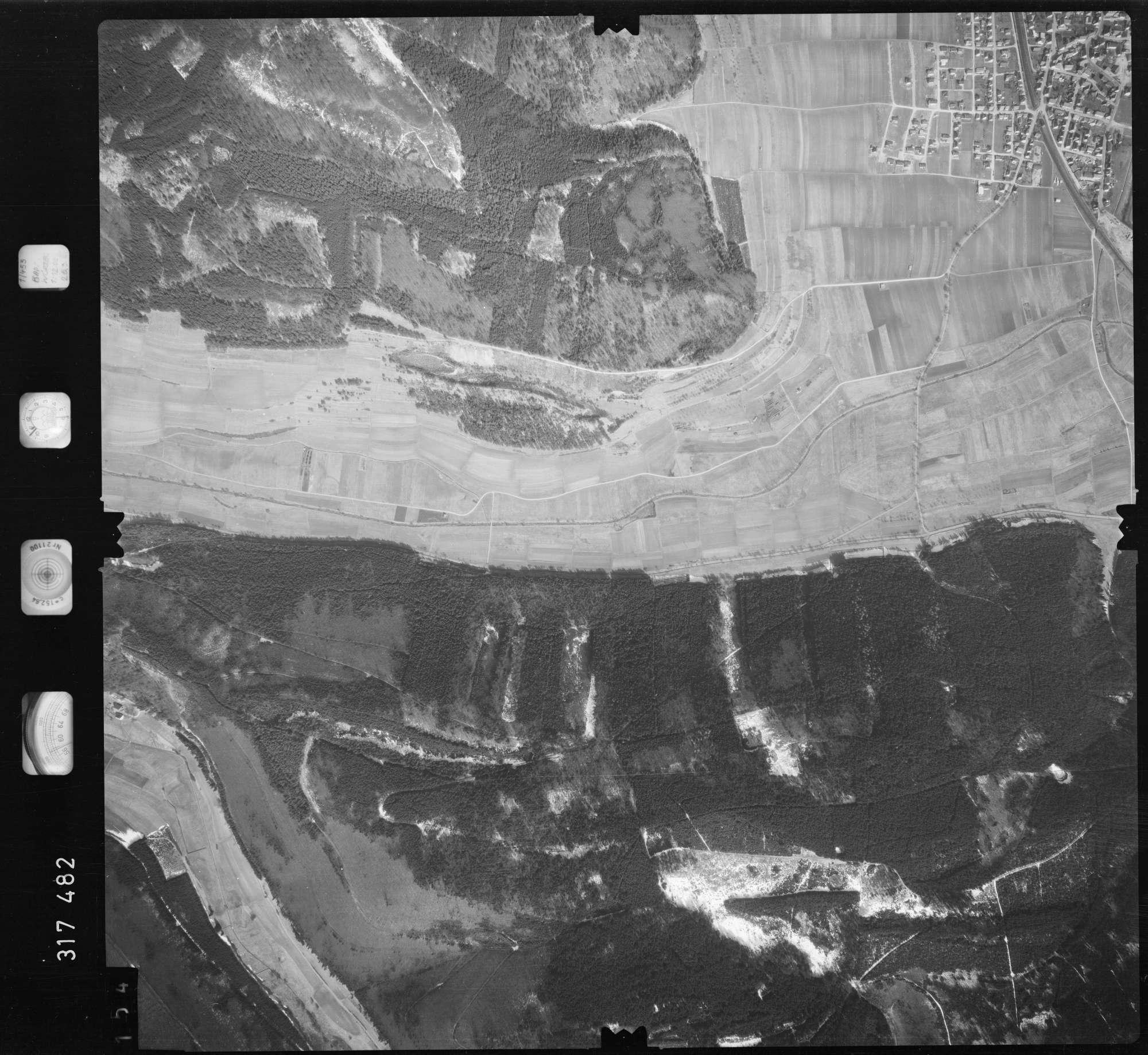 Luftbild: Film 57 Bildnr. 154, Bild 1