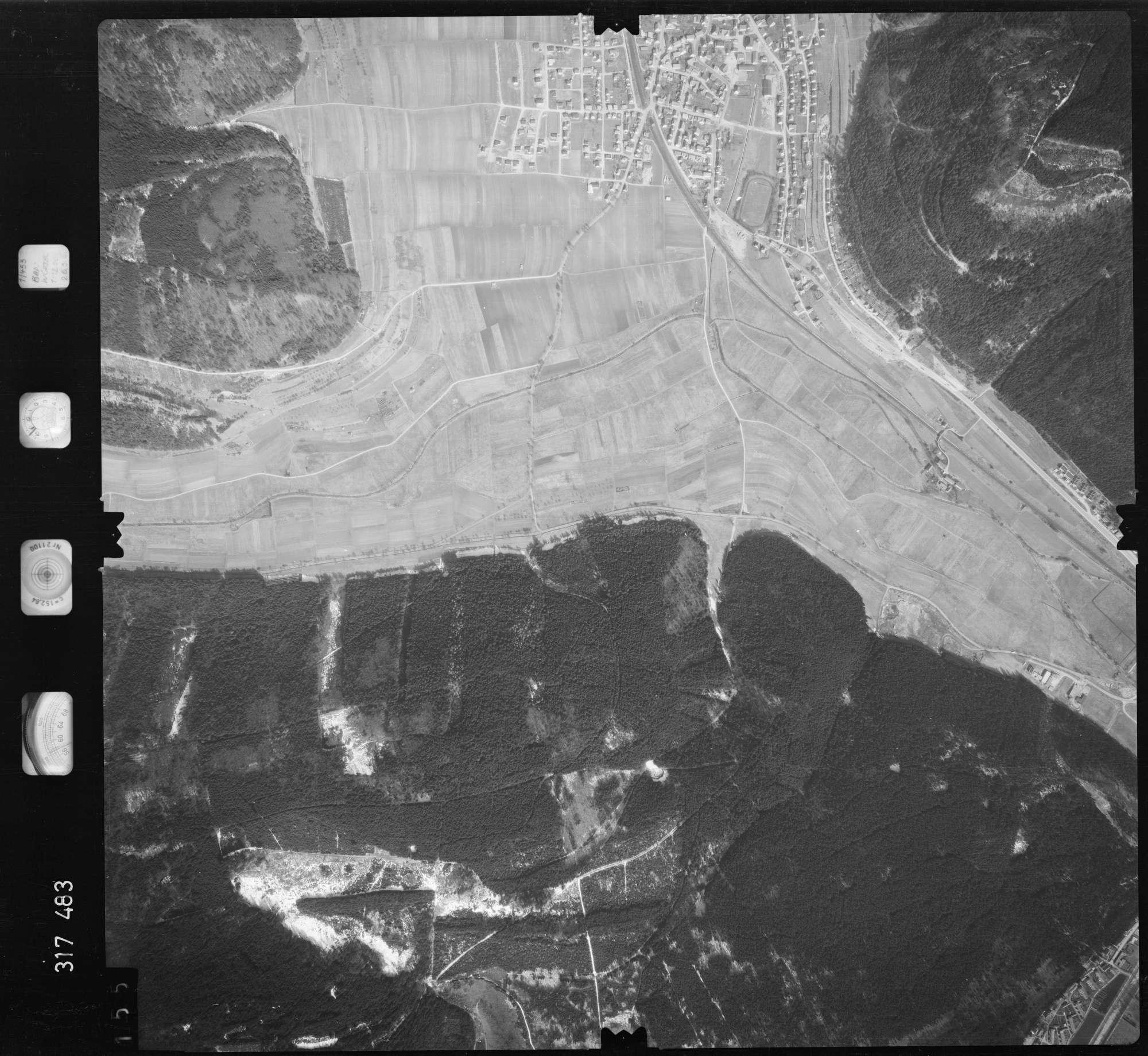 Luftbild: Film 57 Bildnr. 155, Bild 1