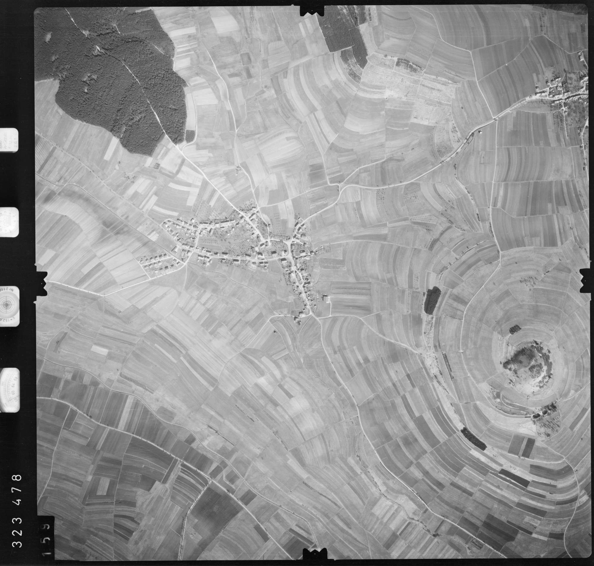 Luftbild: Film 53 Bildnr. 159, Bild 1