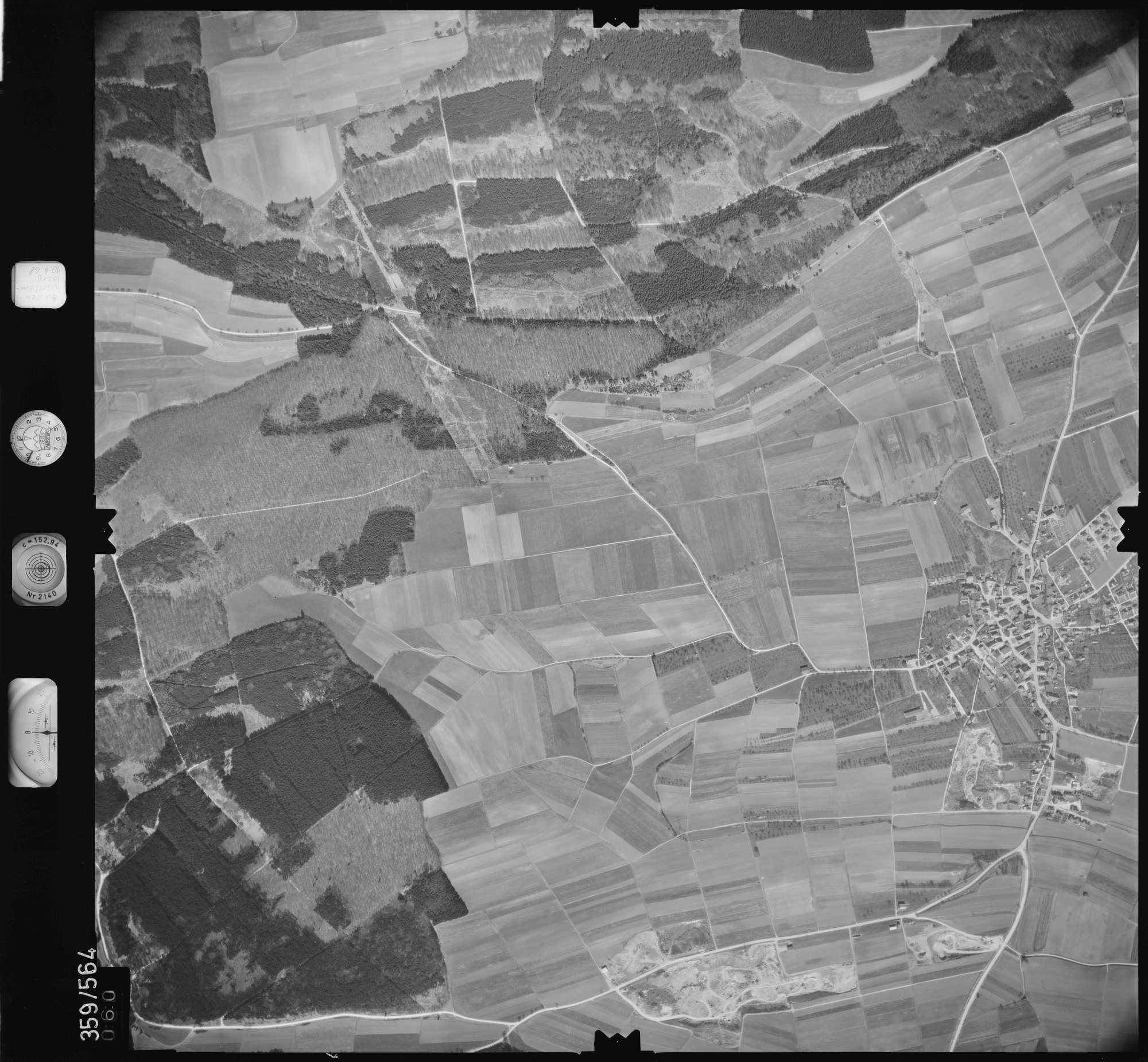 Luftbild: Film 38 Bildnr. 60, Bild 1