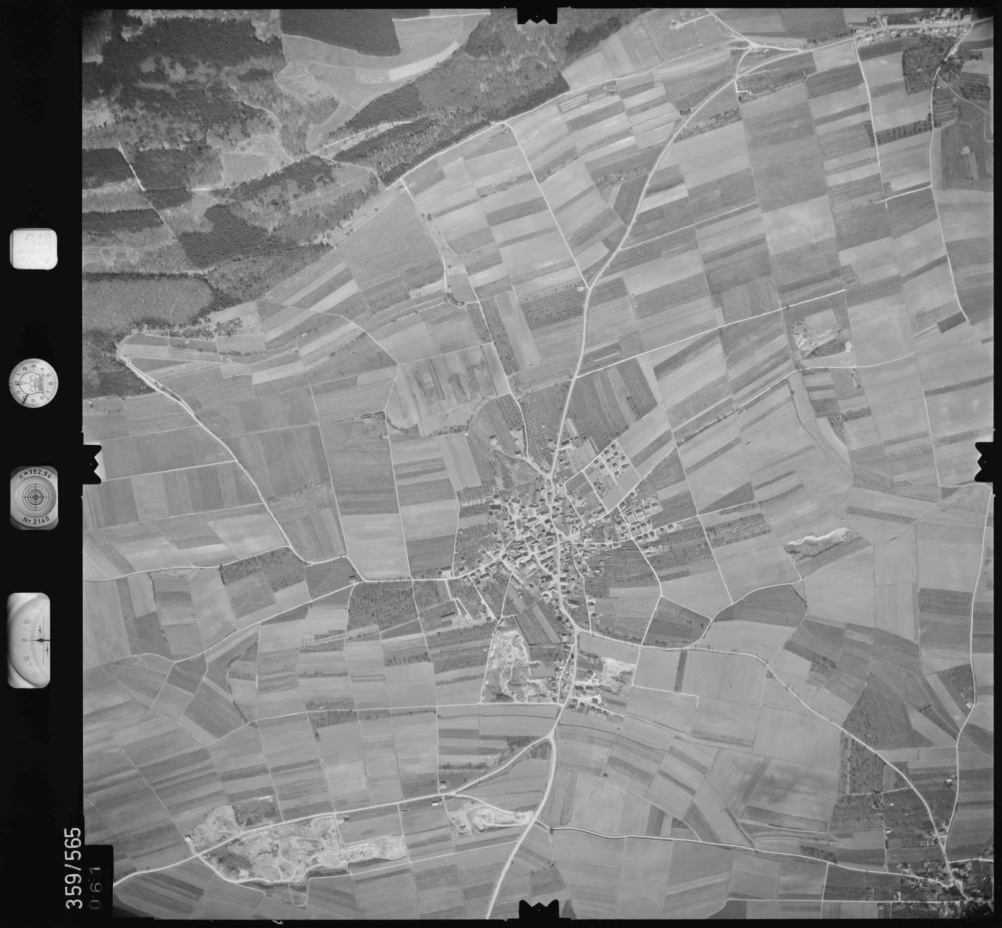 Luftbild: Film 38 Bildnr. 61, Bild 1