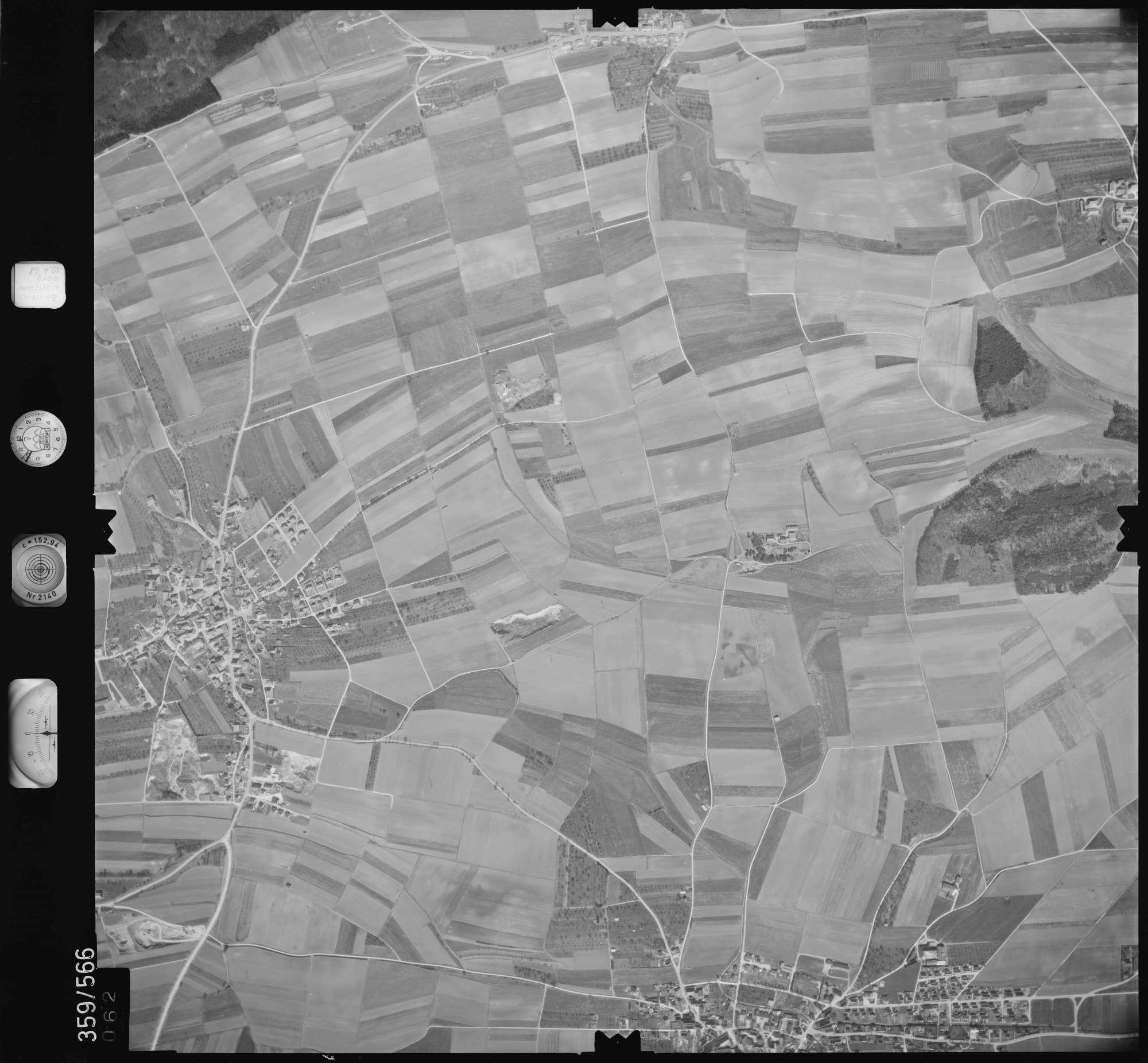 Luftbild: Film 38 Bildnr. 62, Bild 1