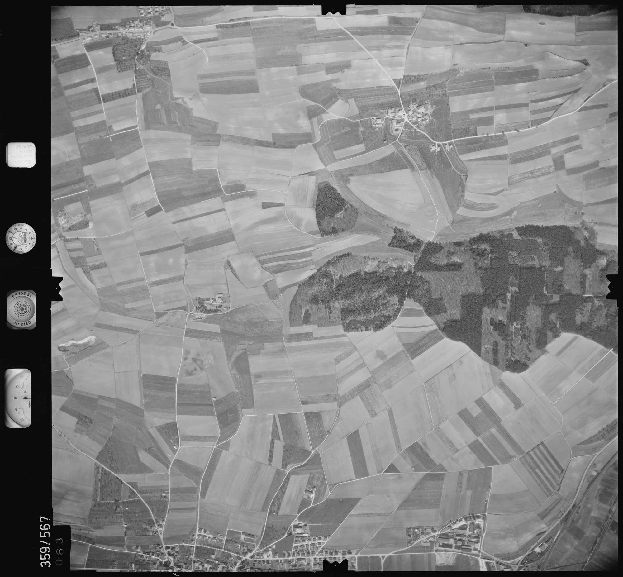 Luftbild: Film 38 Bildnr. 63, Bild 1