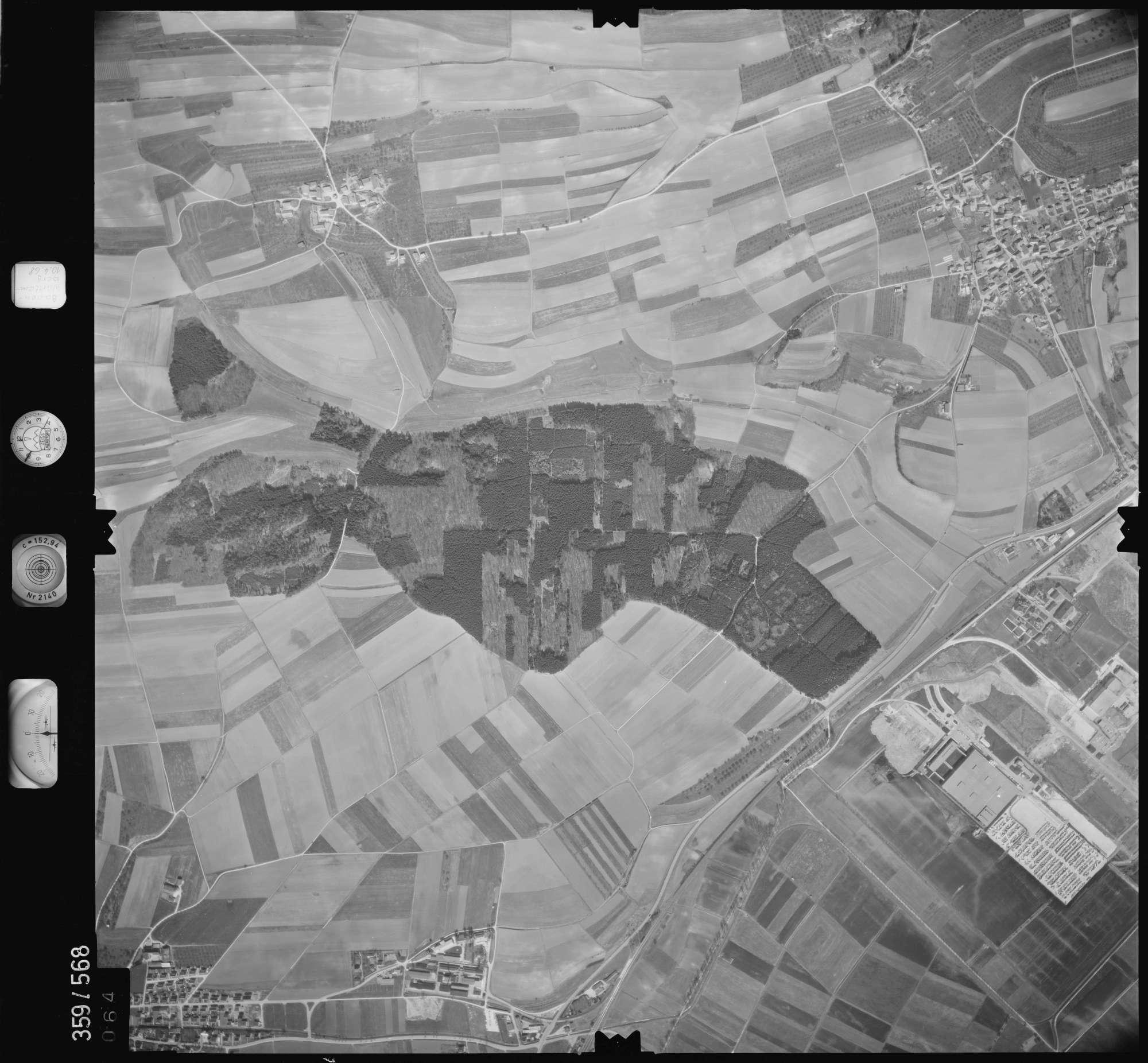 Luftbild: Film 38 Bildnr. 64, Bild 1