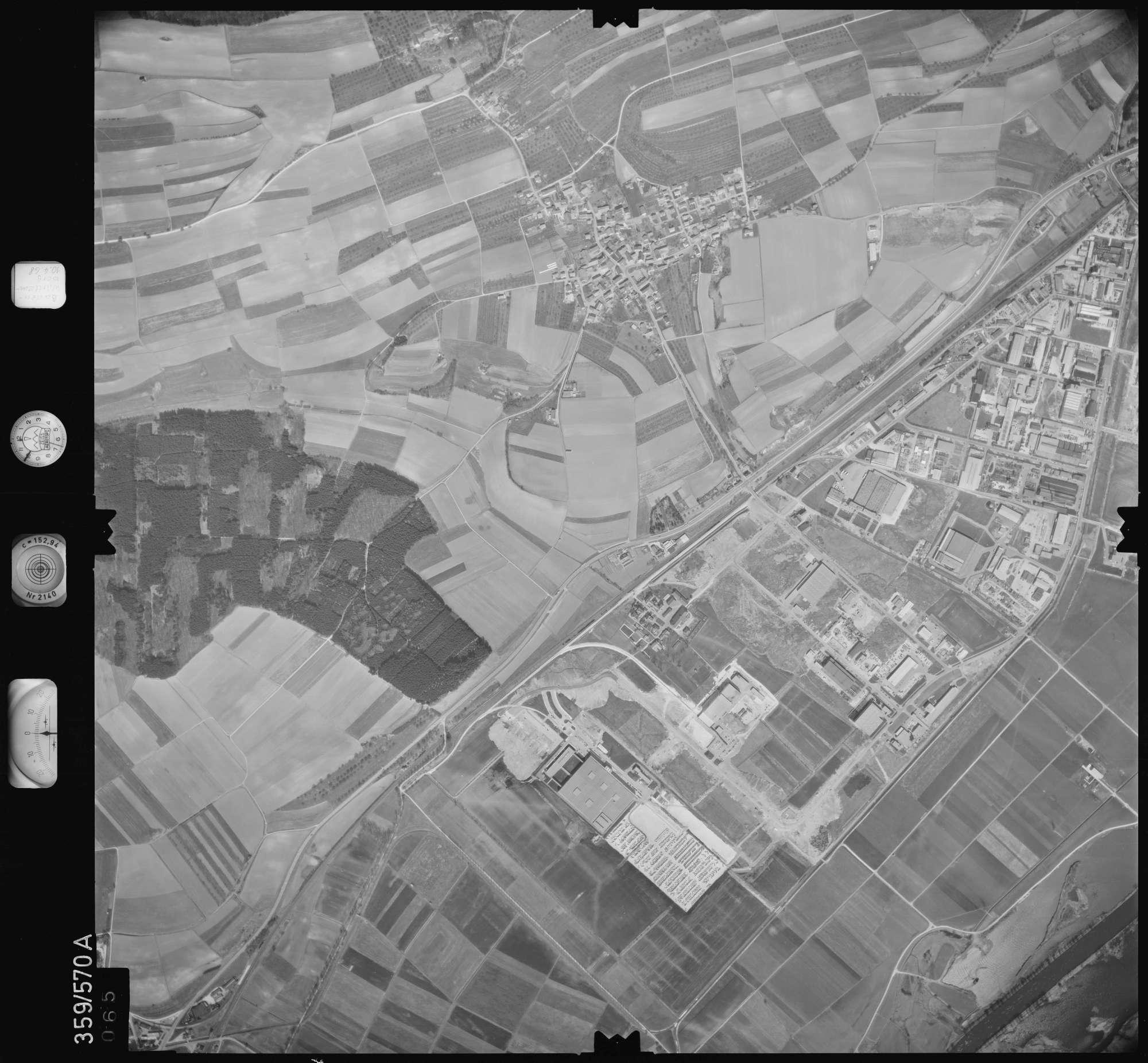 Luftbild: Film 38 Bildnr. 65, Bild 1