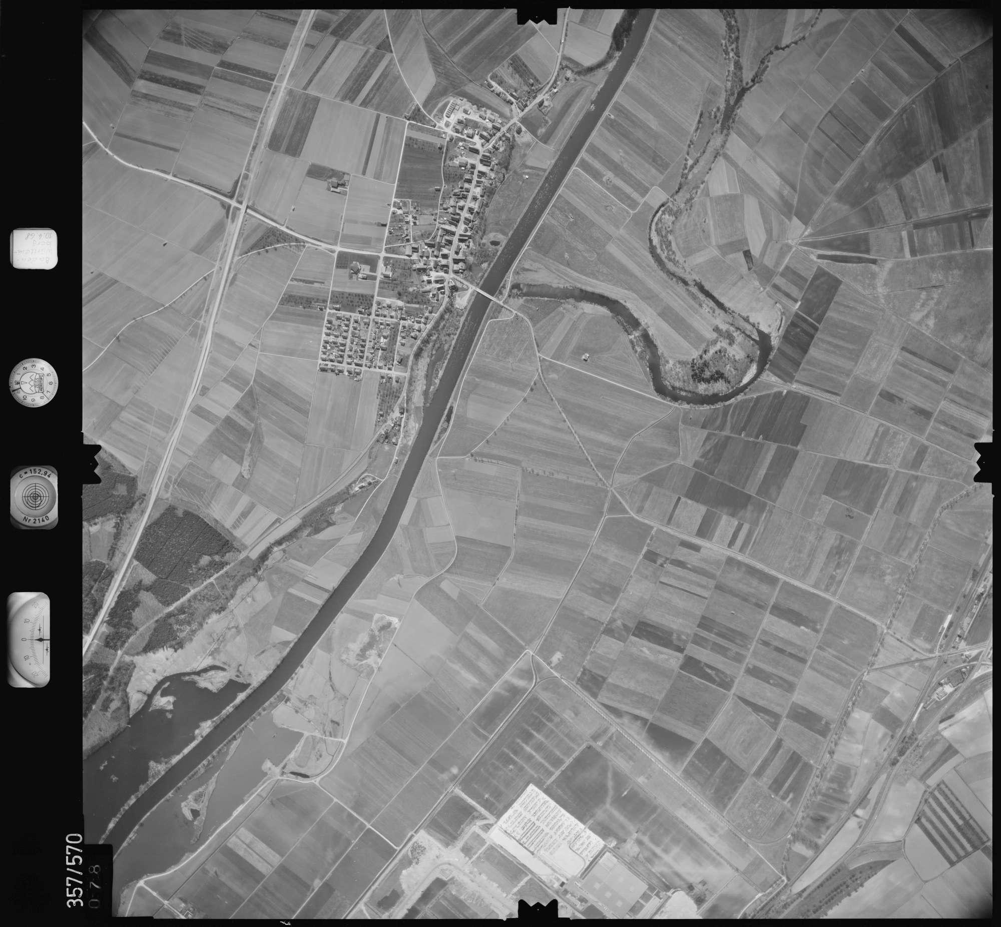 Luftbild: Film 38 Bildnr. 78, Bild 1