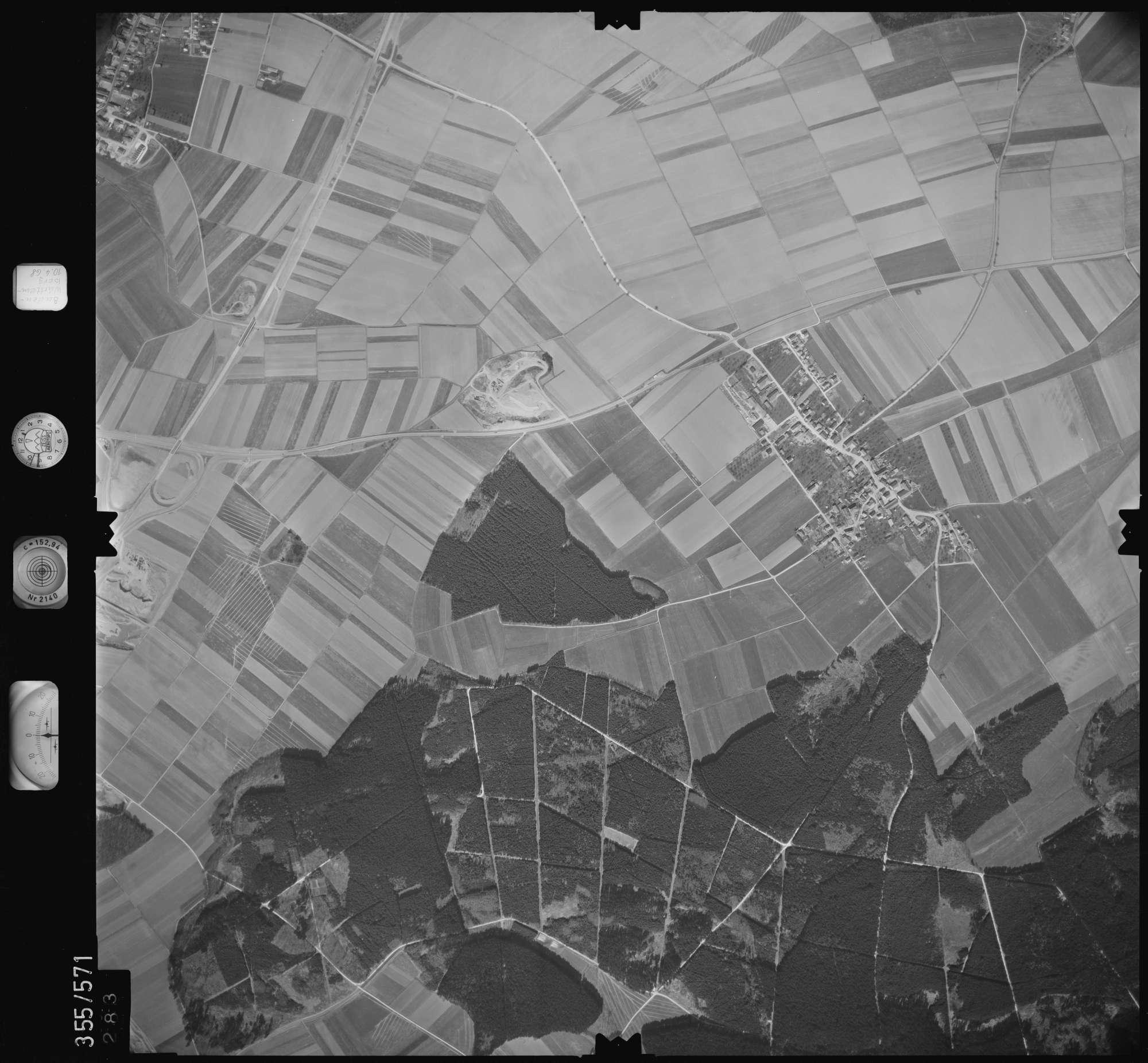 Luftbild: Film 38 Bildnr. 283, Bild 1