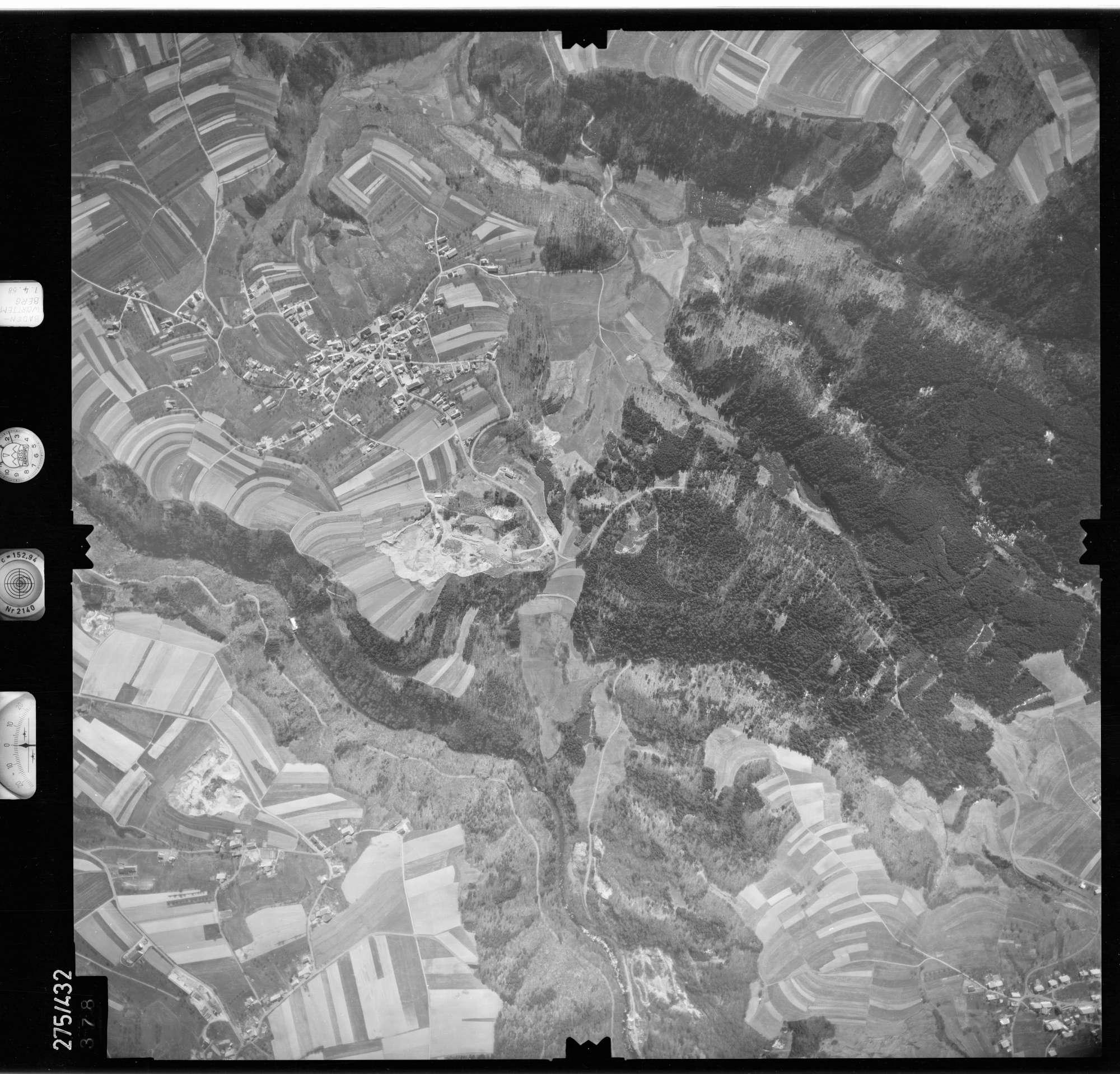Luftbild: Film 81 Bildnr. 378, Bild 1