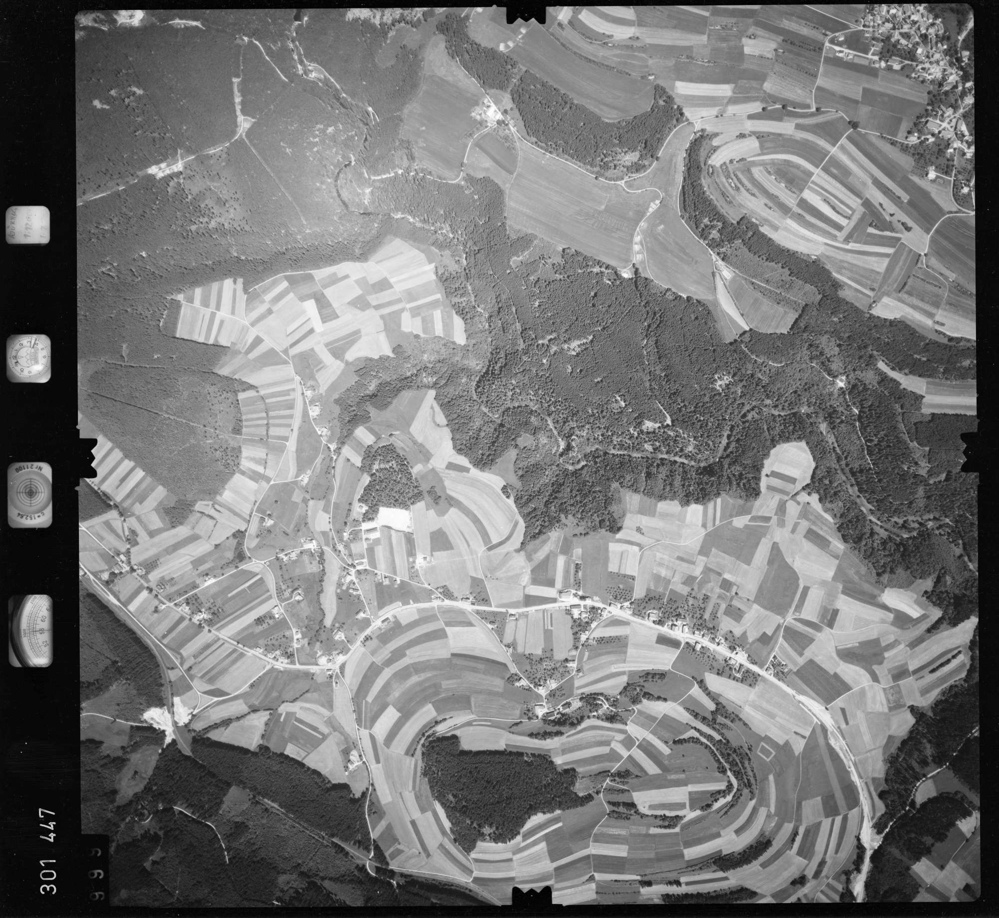 Luftbild: Film 55 Bildnr. 999, Bild 1