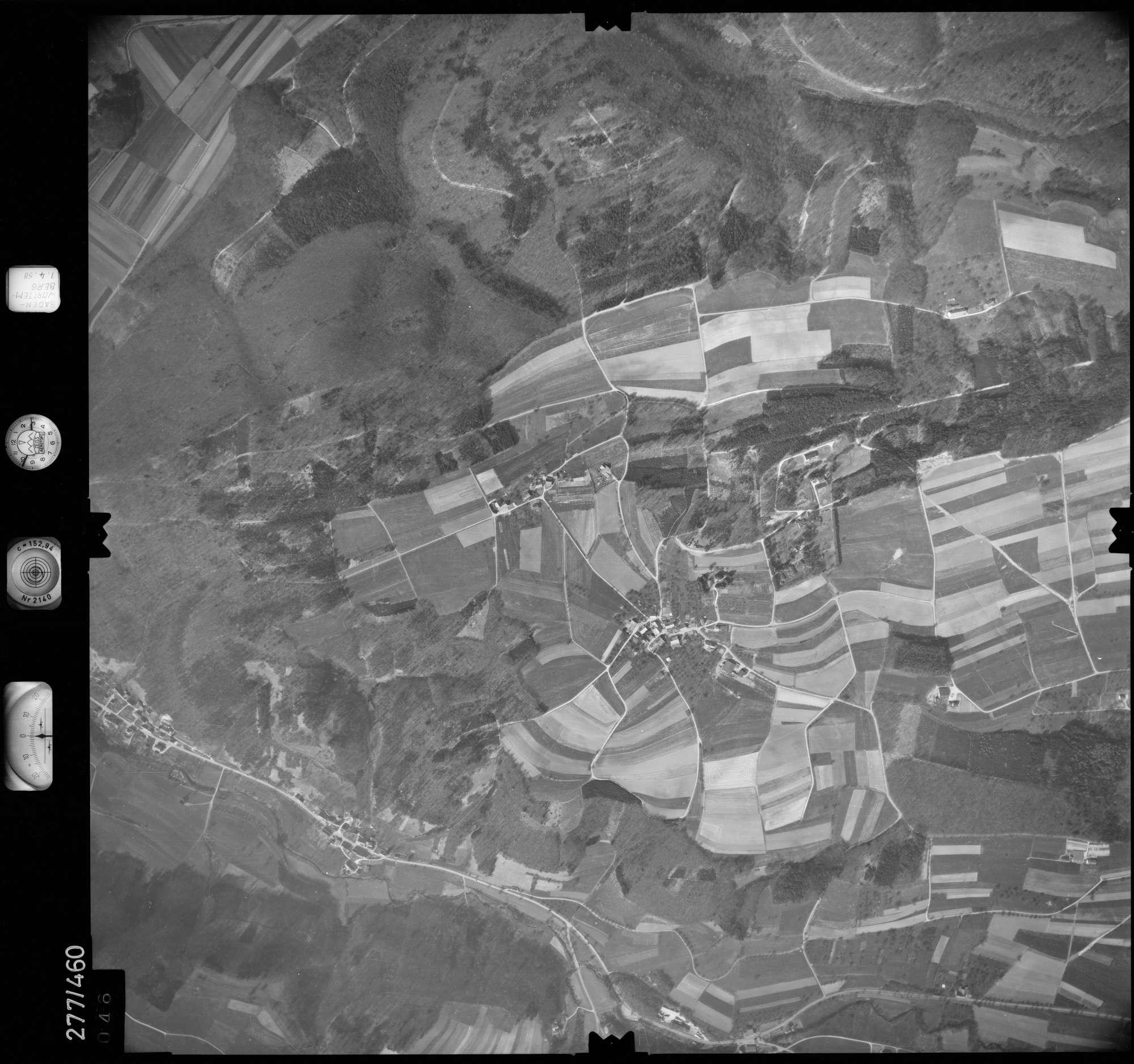 Luftbild: Film 83 Bildnr. 46, Bild 1