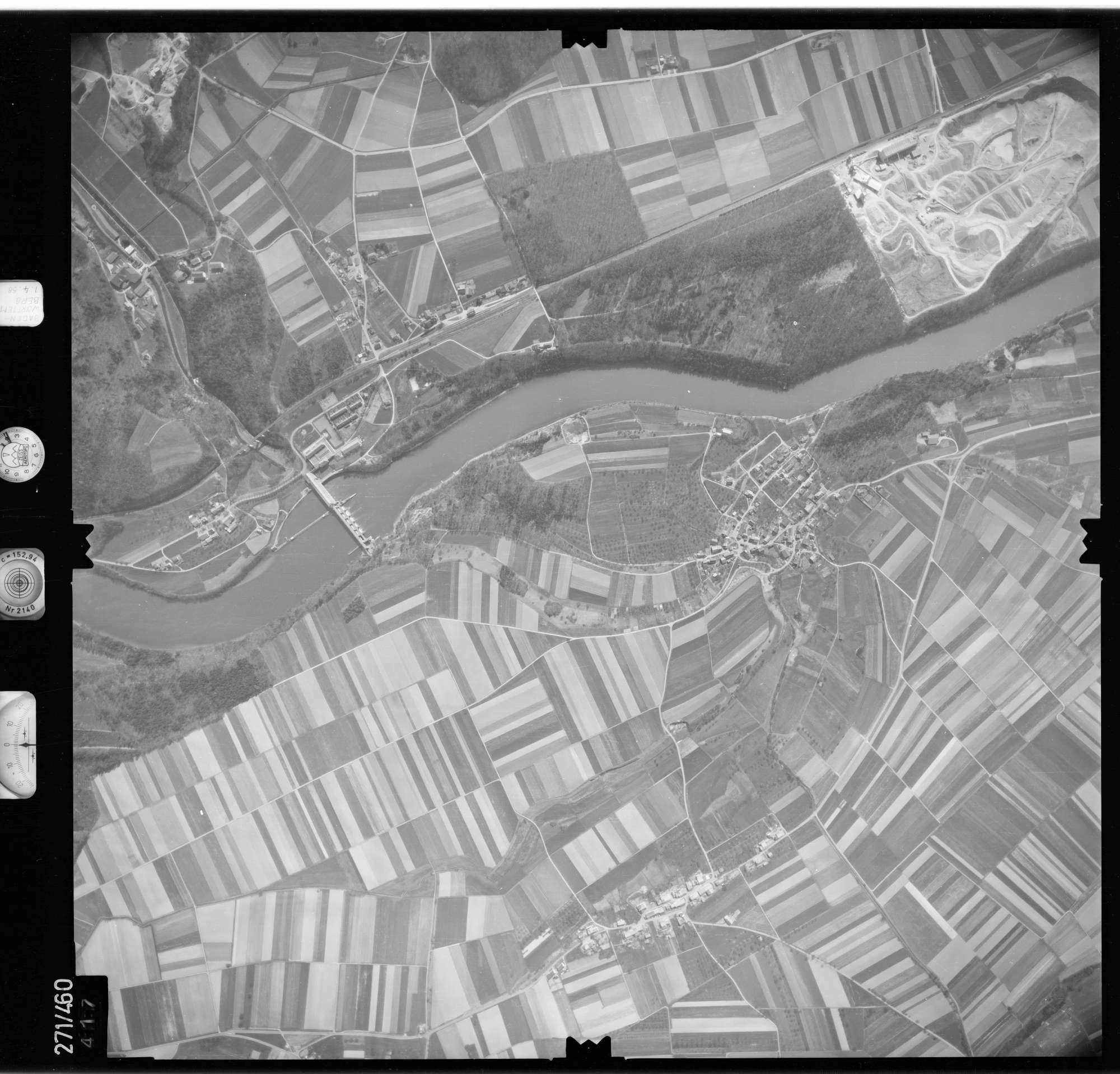 Luftbild: Film 81 Bildnr. 417, Bild 1