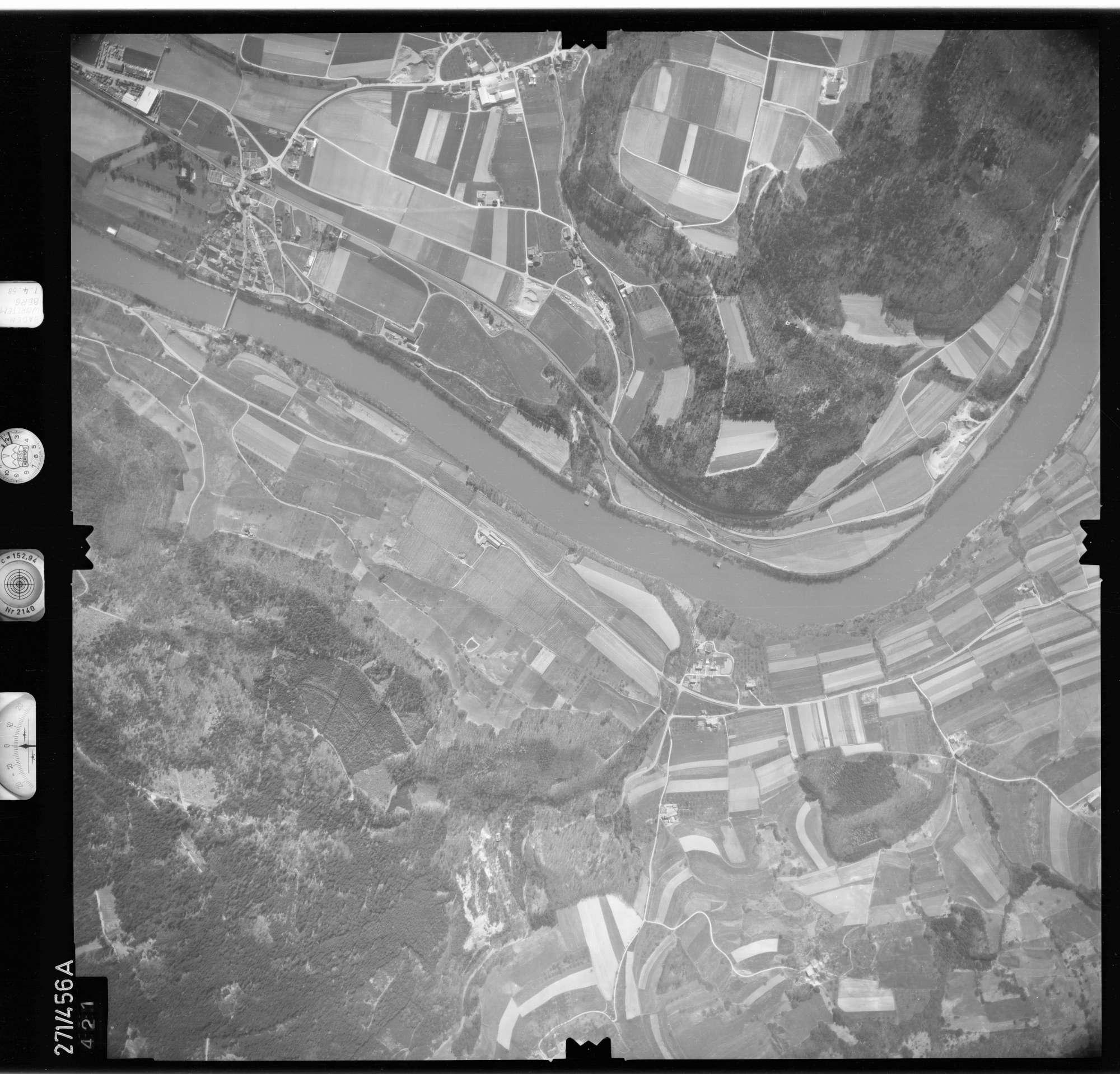 Luftbild: Film 81 Bildnr. 421, Bild 1
