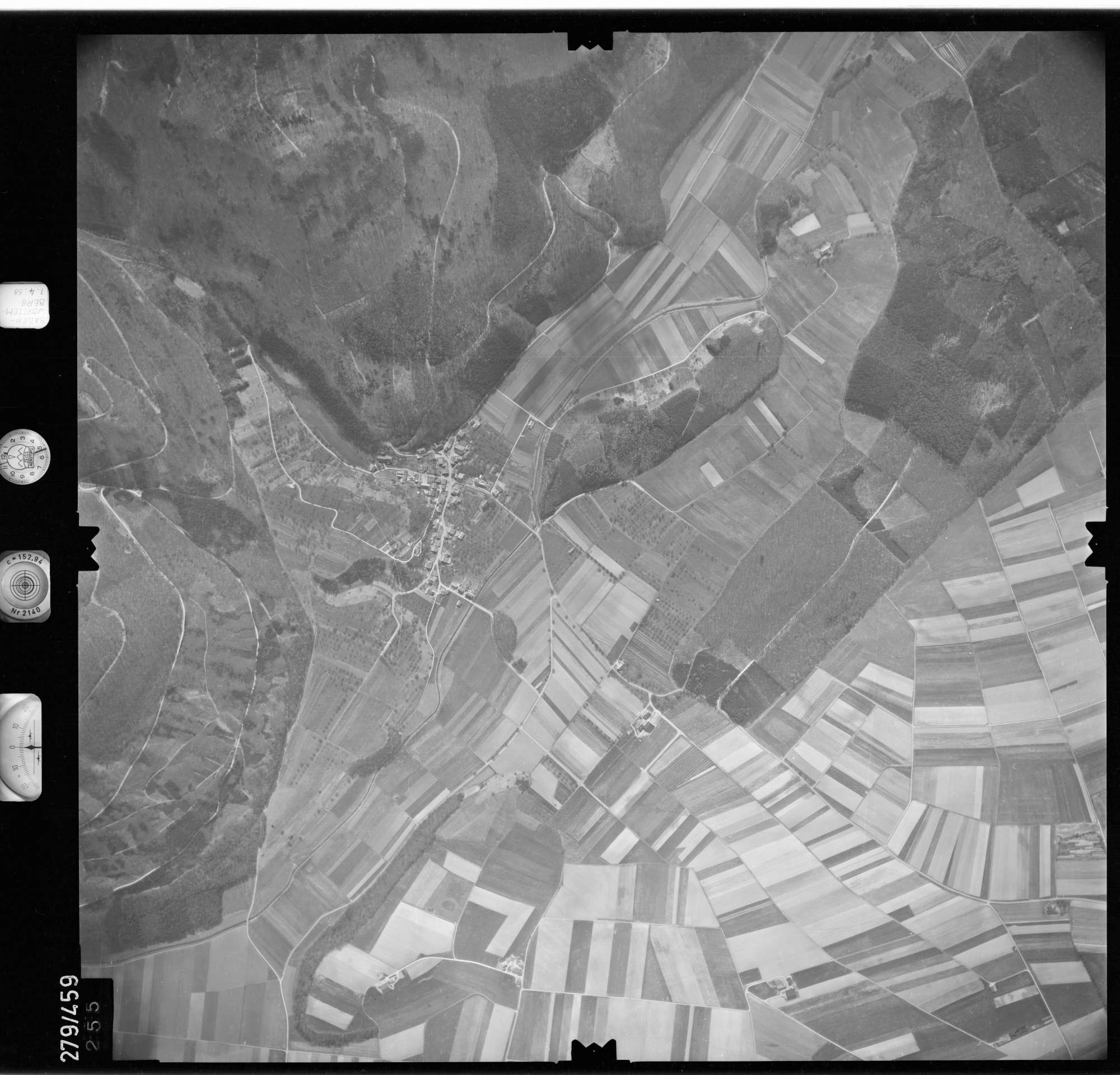Luftbild: Film 78 Bildnr. 255, Bild 1