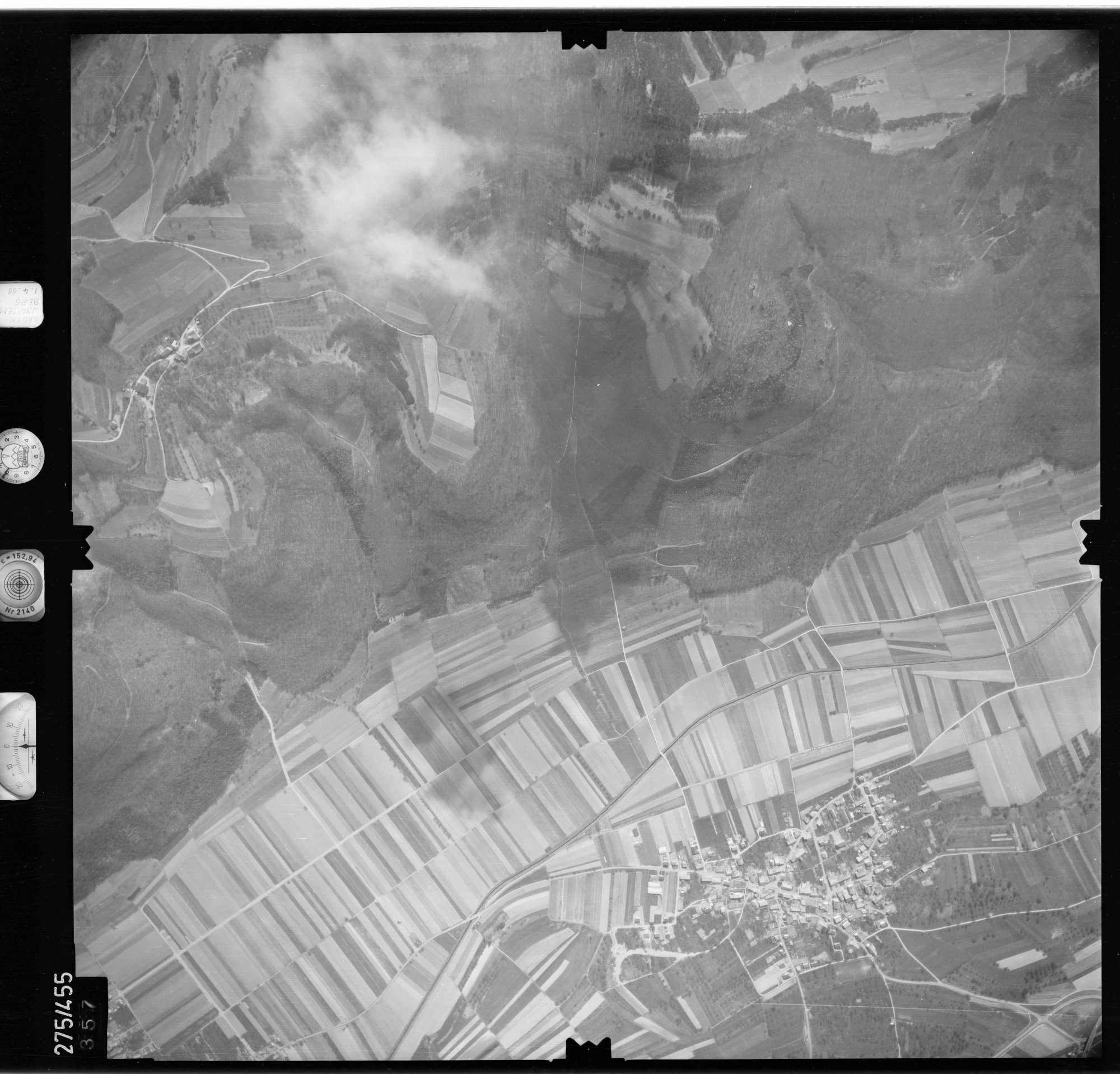 Luftbild: Film 81 Bildnr. 357, Bild 1
