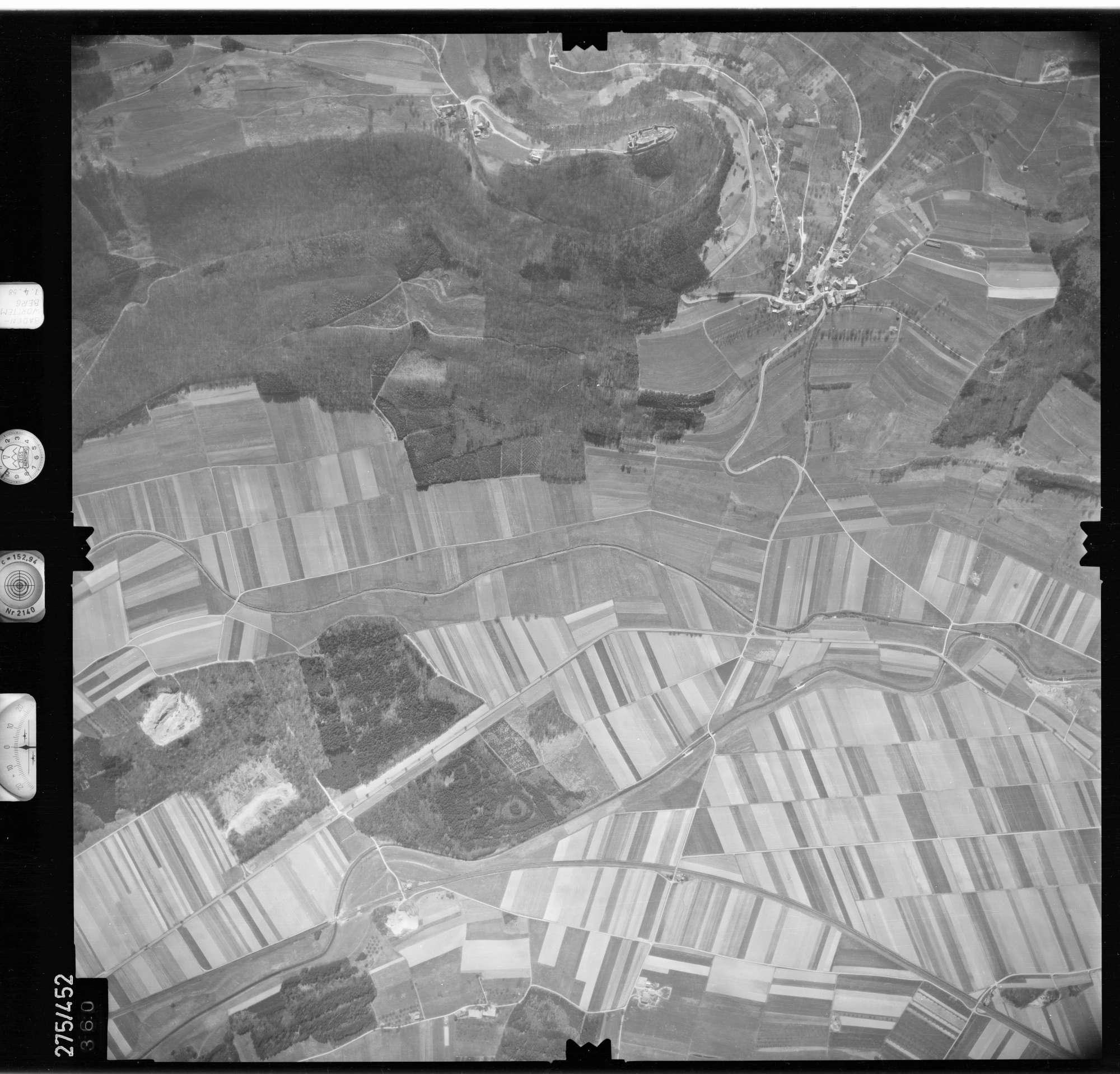 Luftbild: Film 81 Bildnr. 360, Bild 1