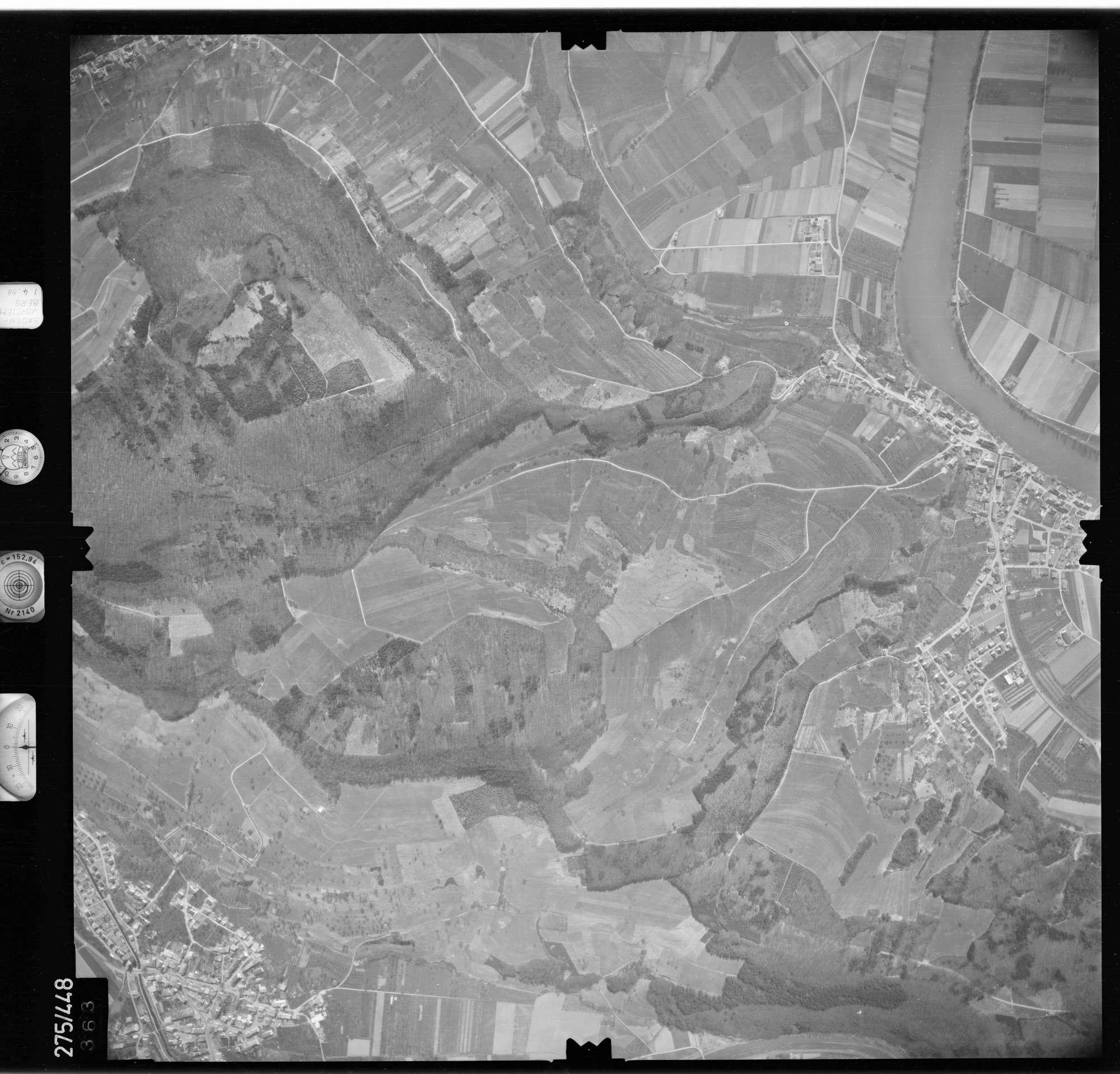 Luftbild: Film 81 Bildnr. 363, Bild 1