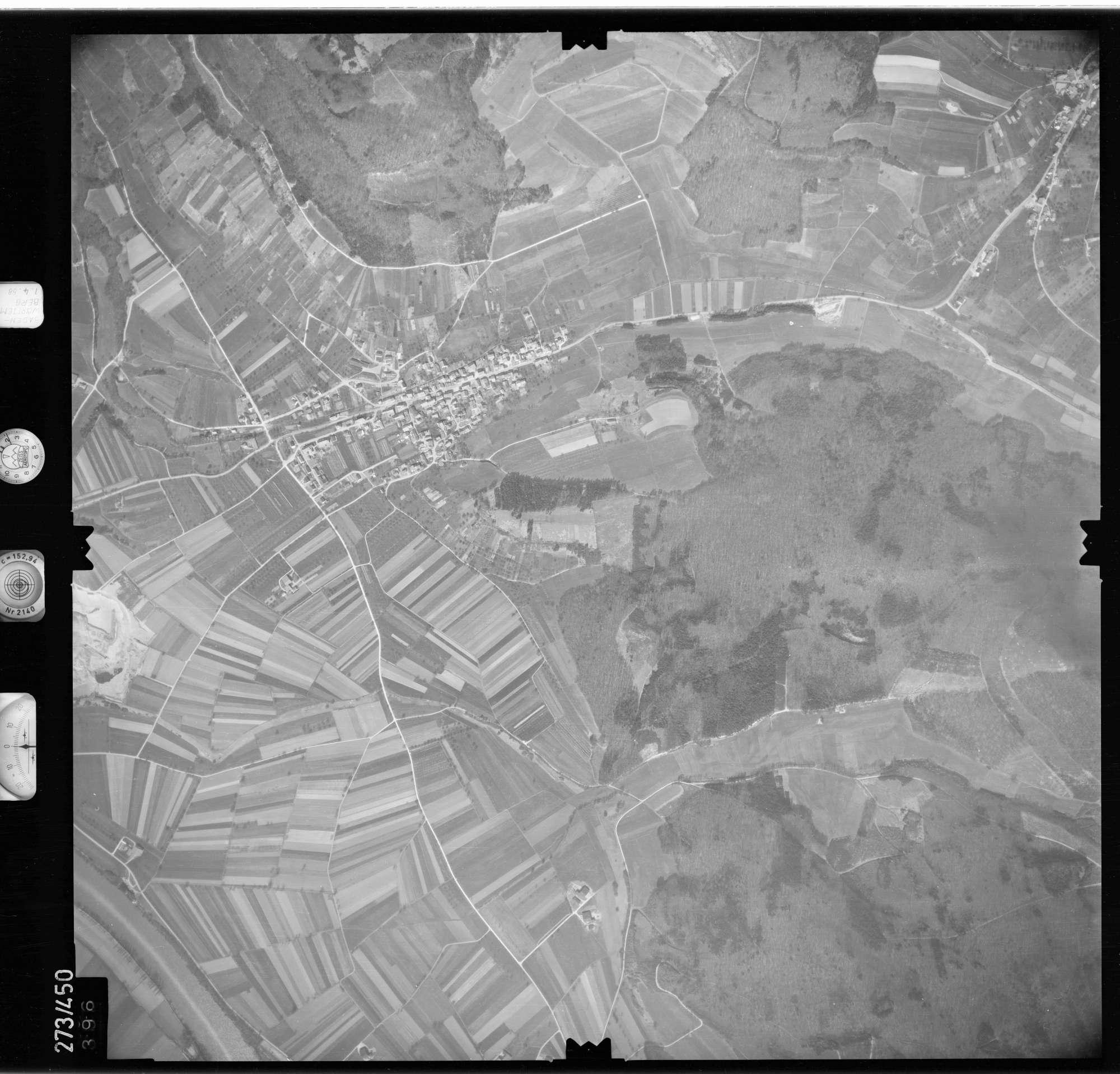 Luftbild: Film 81 Bildnr. 396, Bild 1