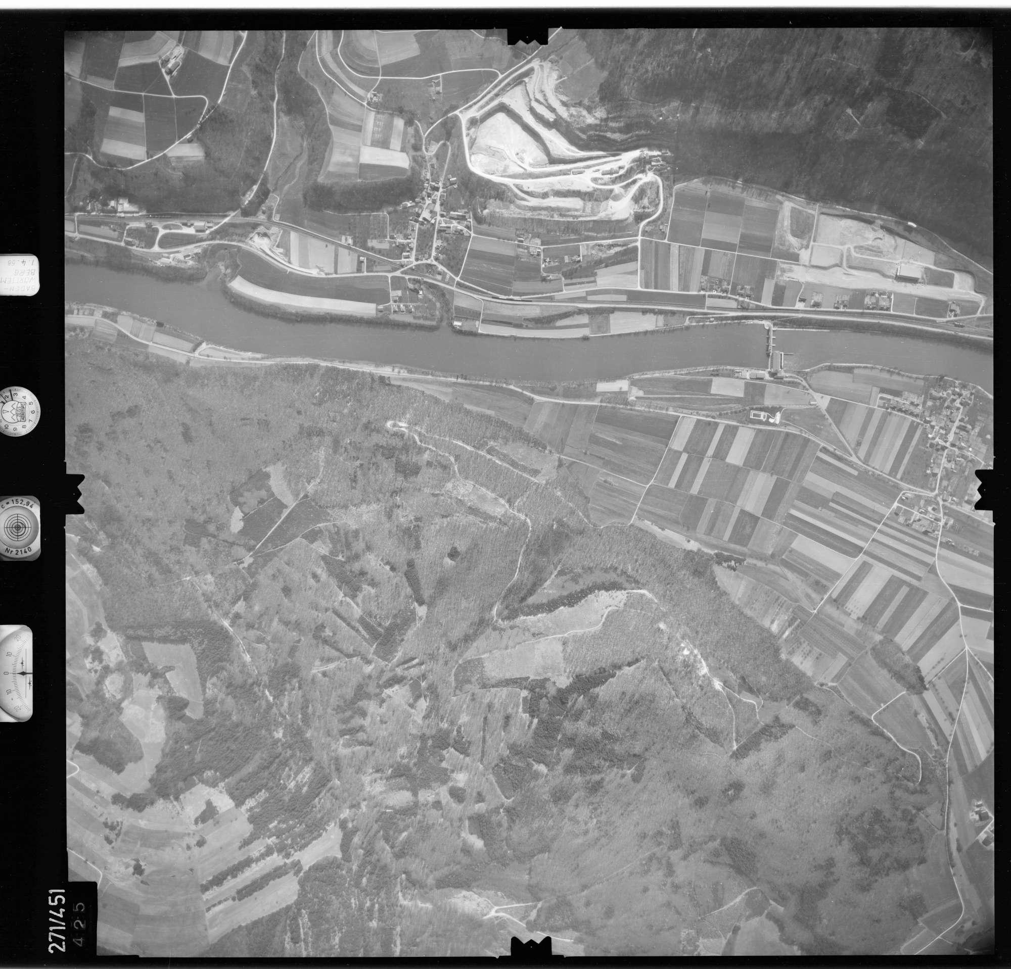 Luftbild: Film 81 Bildnr. 425, Bild 1