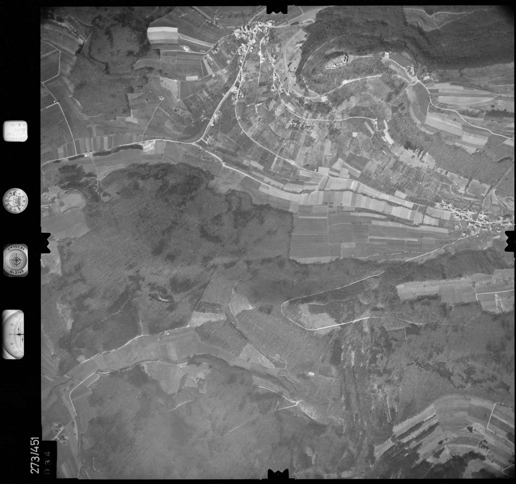 Luftbild: Film 83 Bildnr. 34, Bild 1