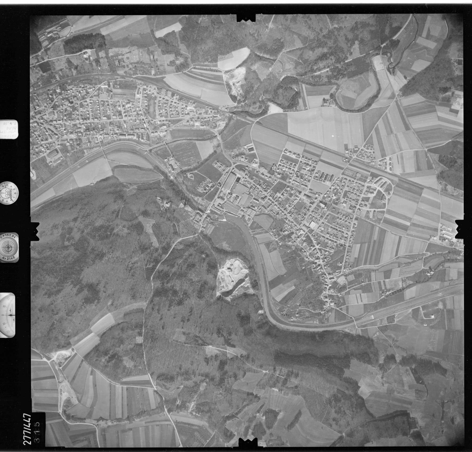 Luftbild: Film 81 Bildnr. 315, Bild 1