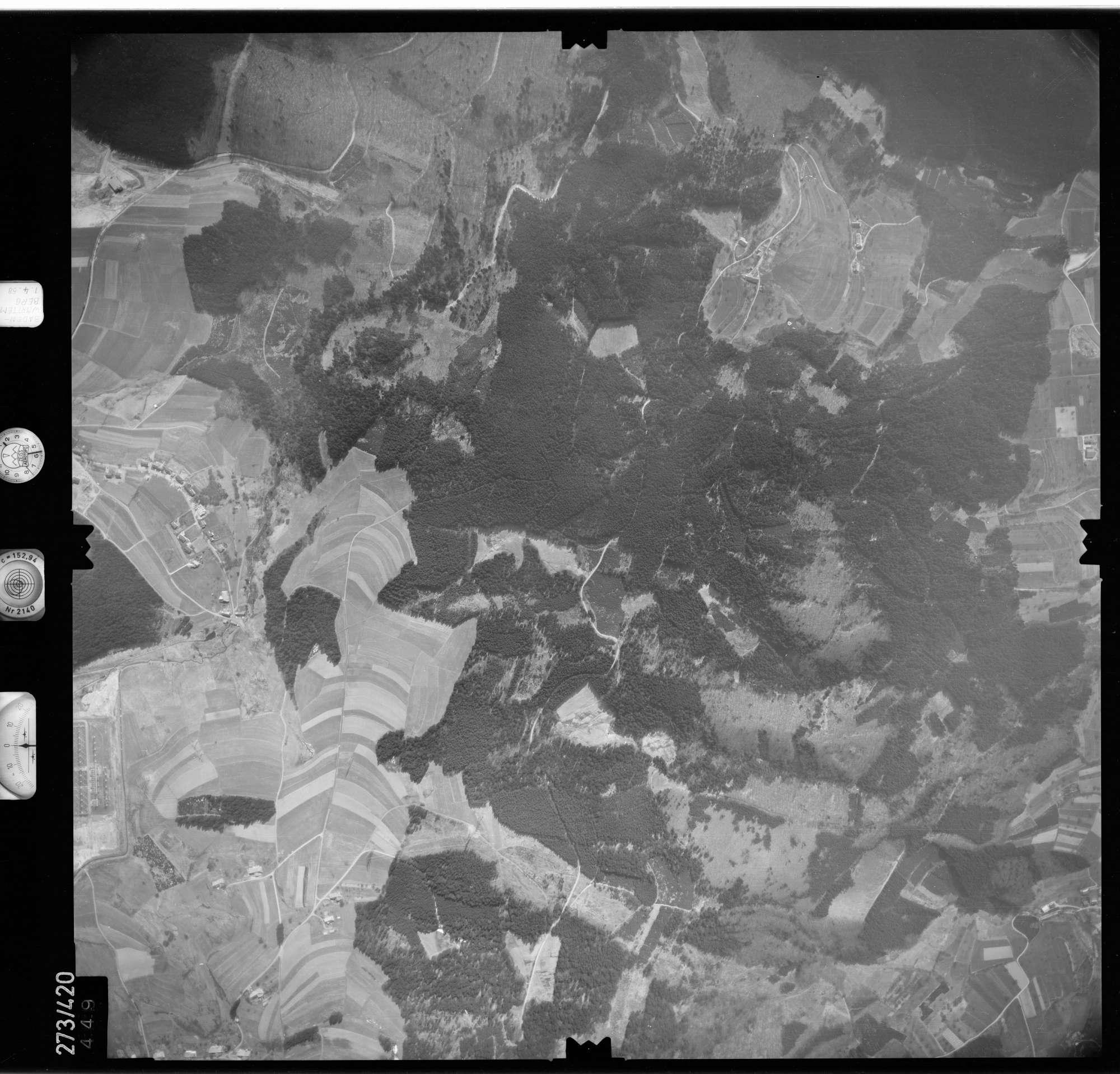 Luftbild: Film 81 Bildnr. 449, Bild 1