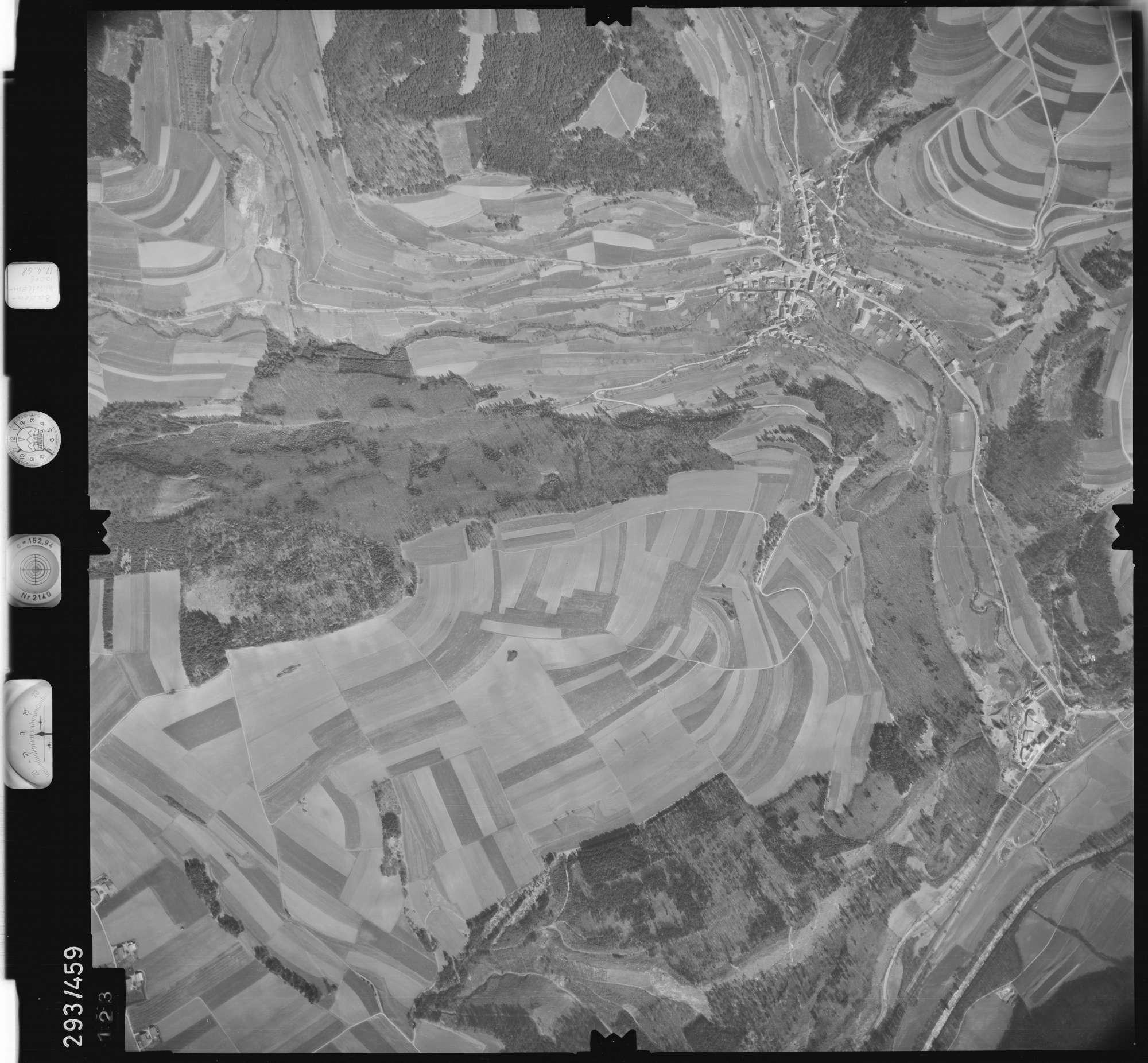 Luftbild: Film 43 Bildnr. 123, Bild 1