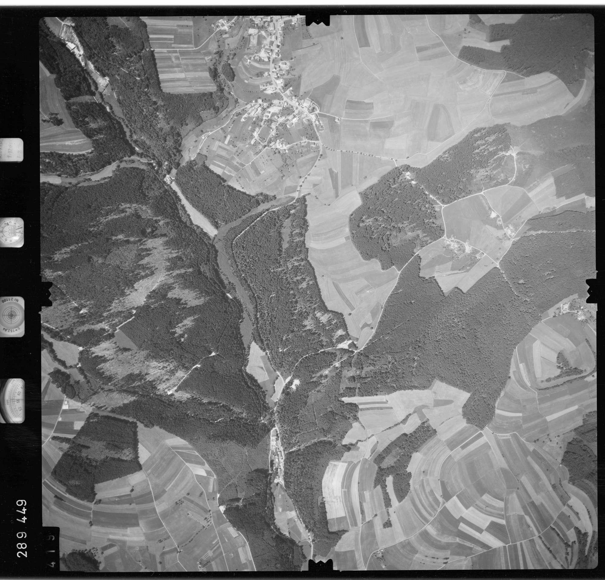 Luftbild: Film 72 Bildnr. 419, Bild 1