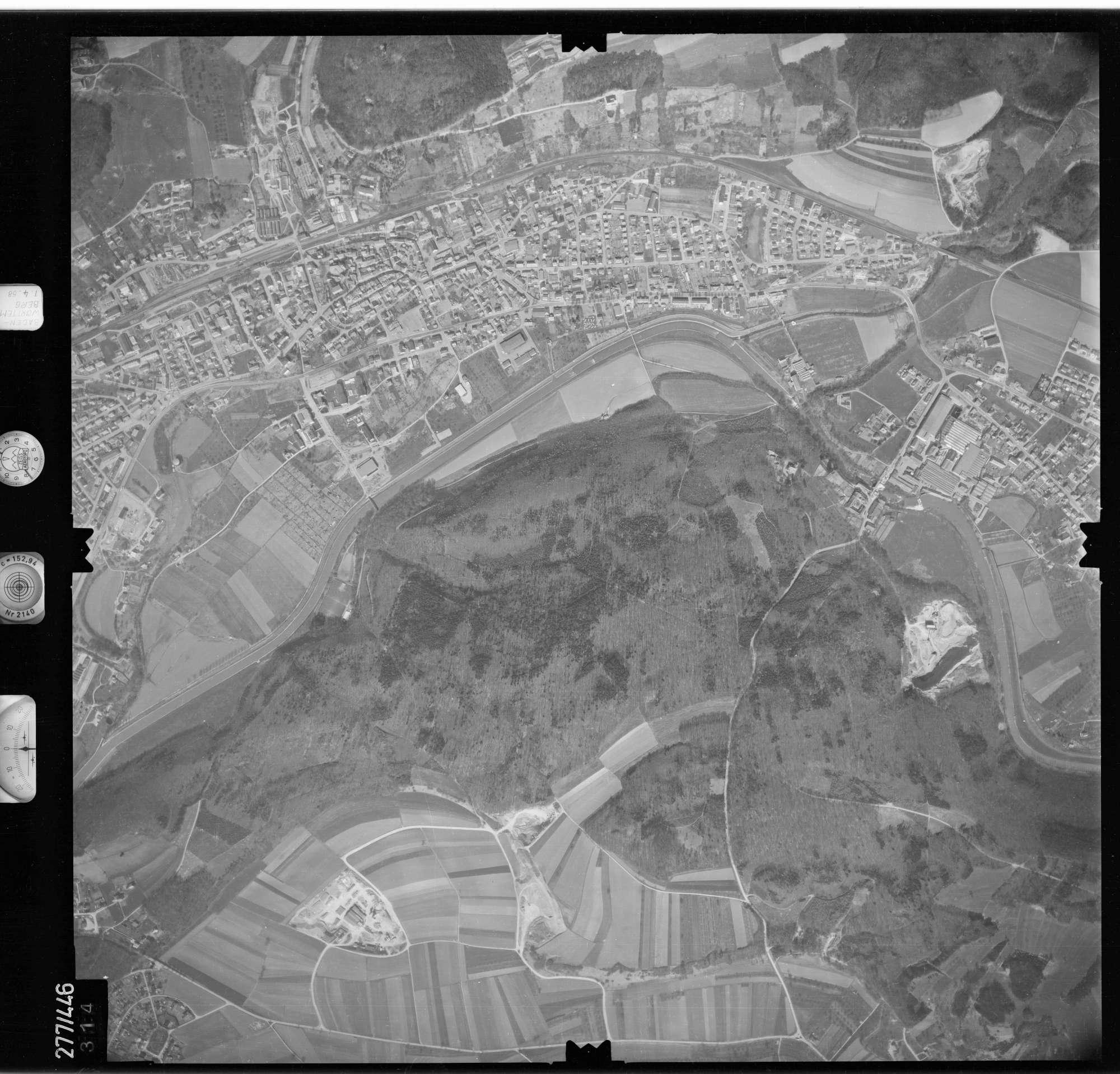 Luftbild: Film 81 Bildnr. 314, Bild 1