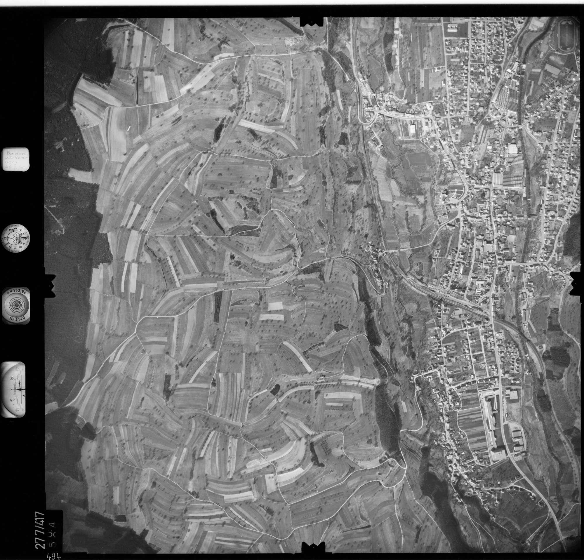 Luftbild: Film 71 Bildnr. 494, Bild 1