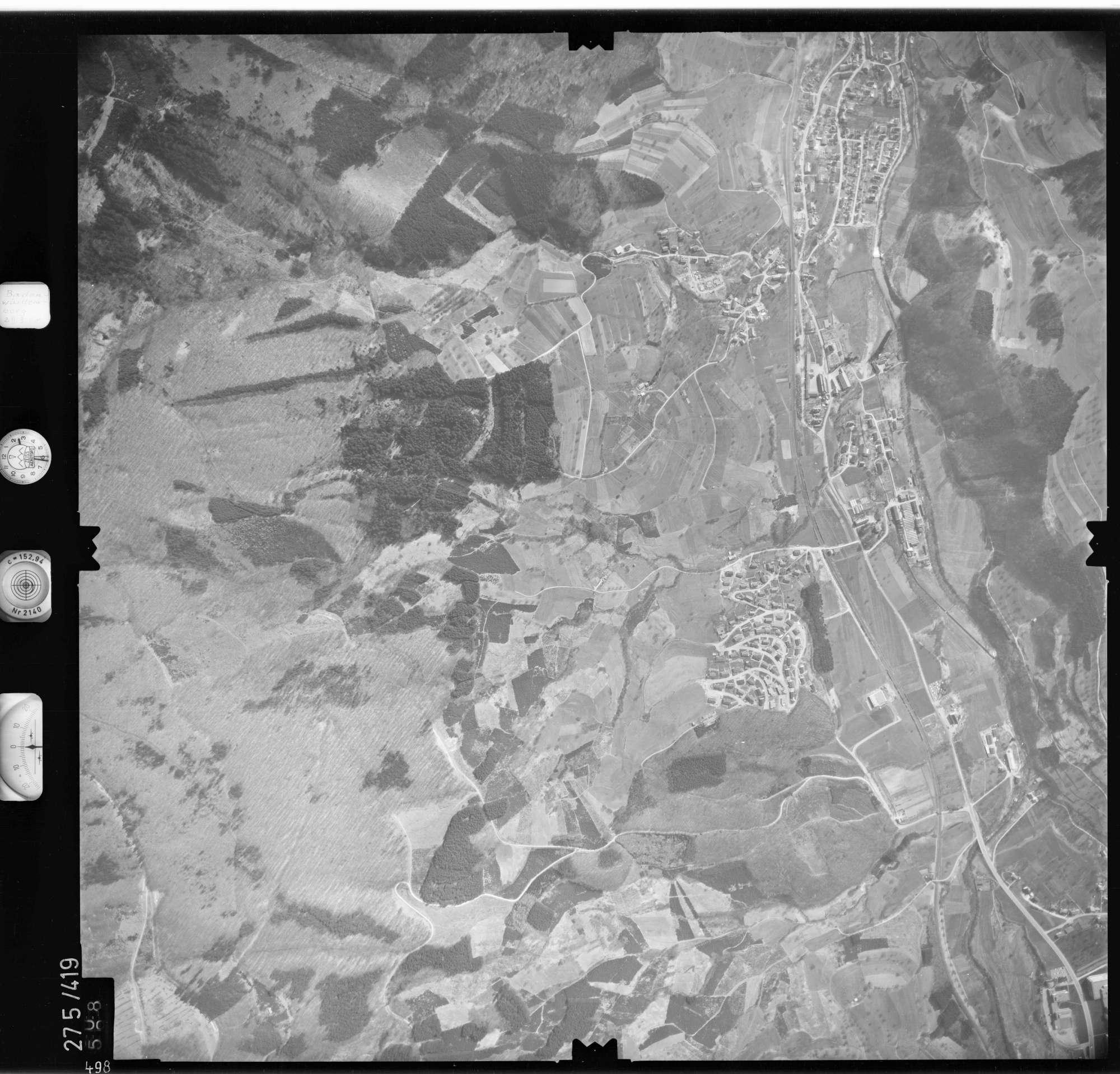 Luftbild: Film 71 Bildnr. 498, Bild 1