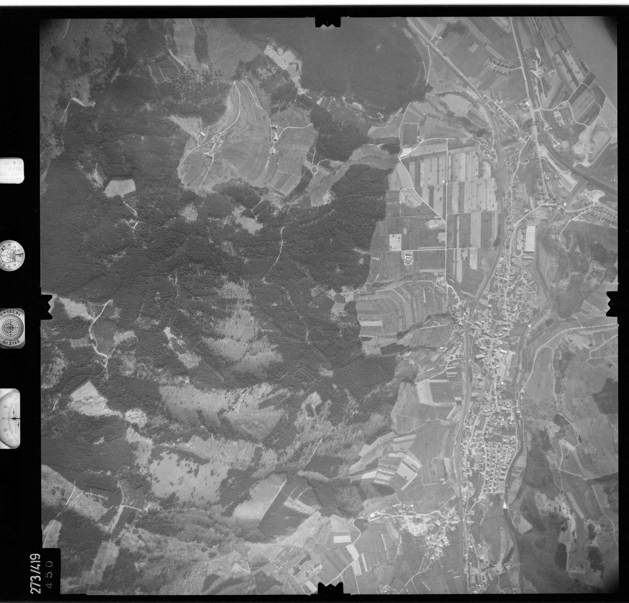 Luftbild: Film 81 Bildnr. 450, Bild 1