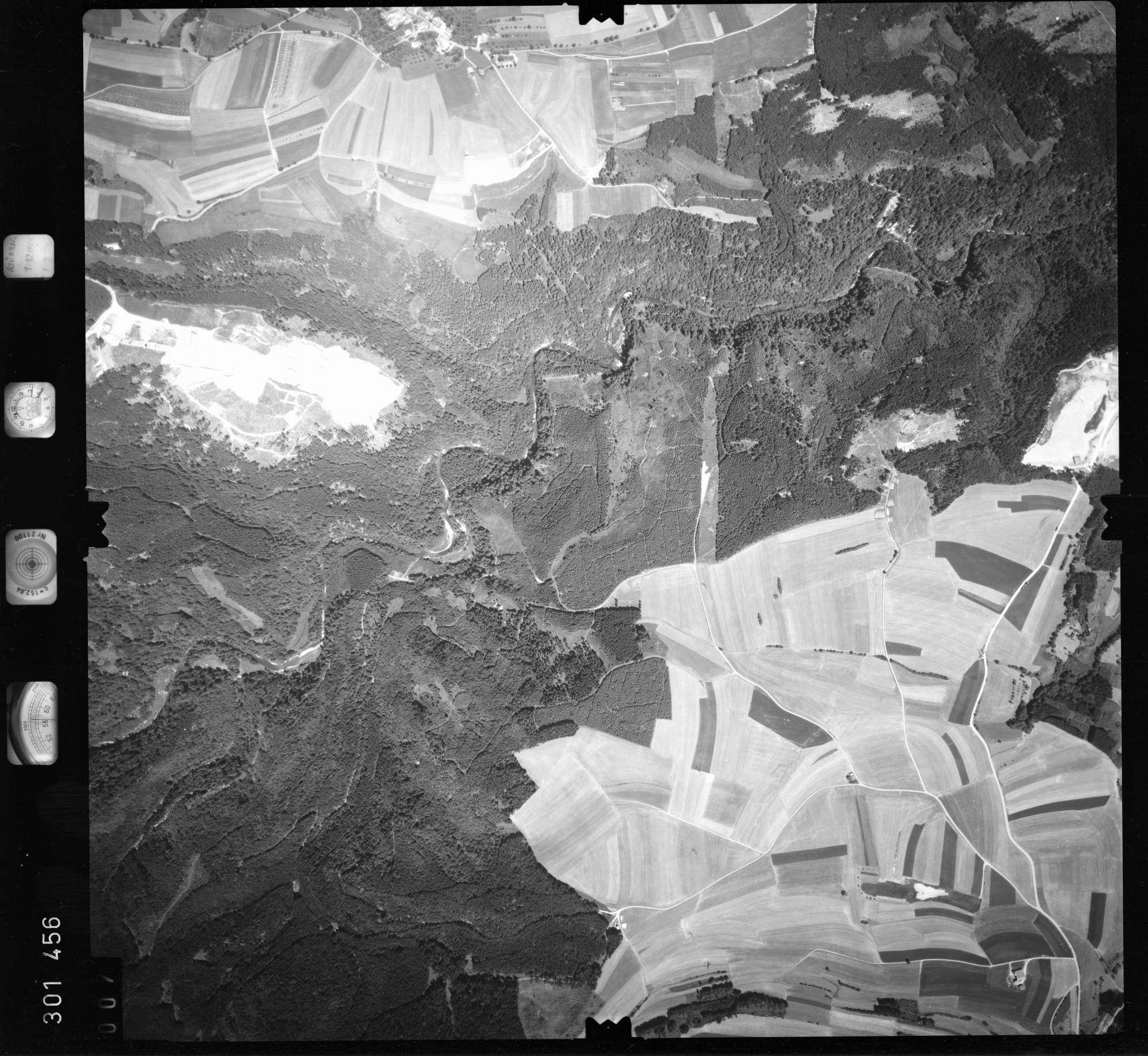 Luftbild: Film 55 Bildnr. 7, Bild 1