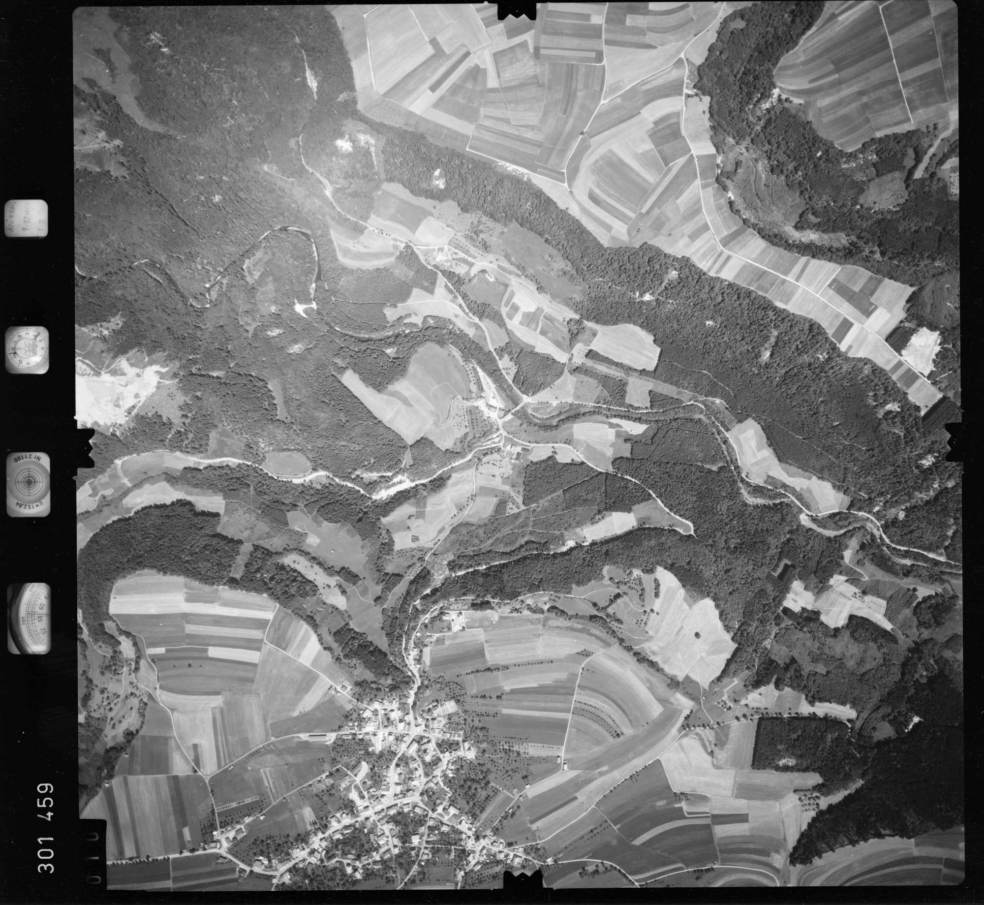 Luftbild: Film 55 Bildnr. 10, Bild 1