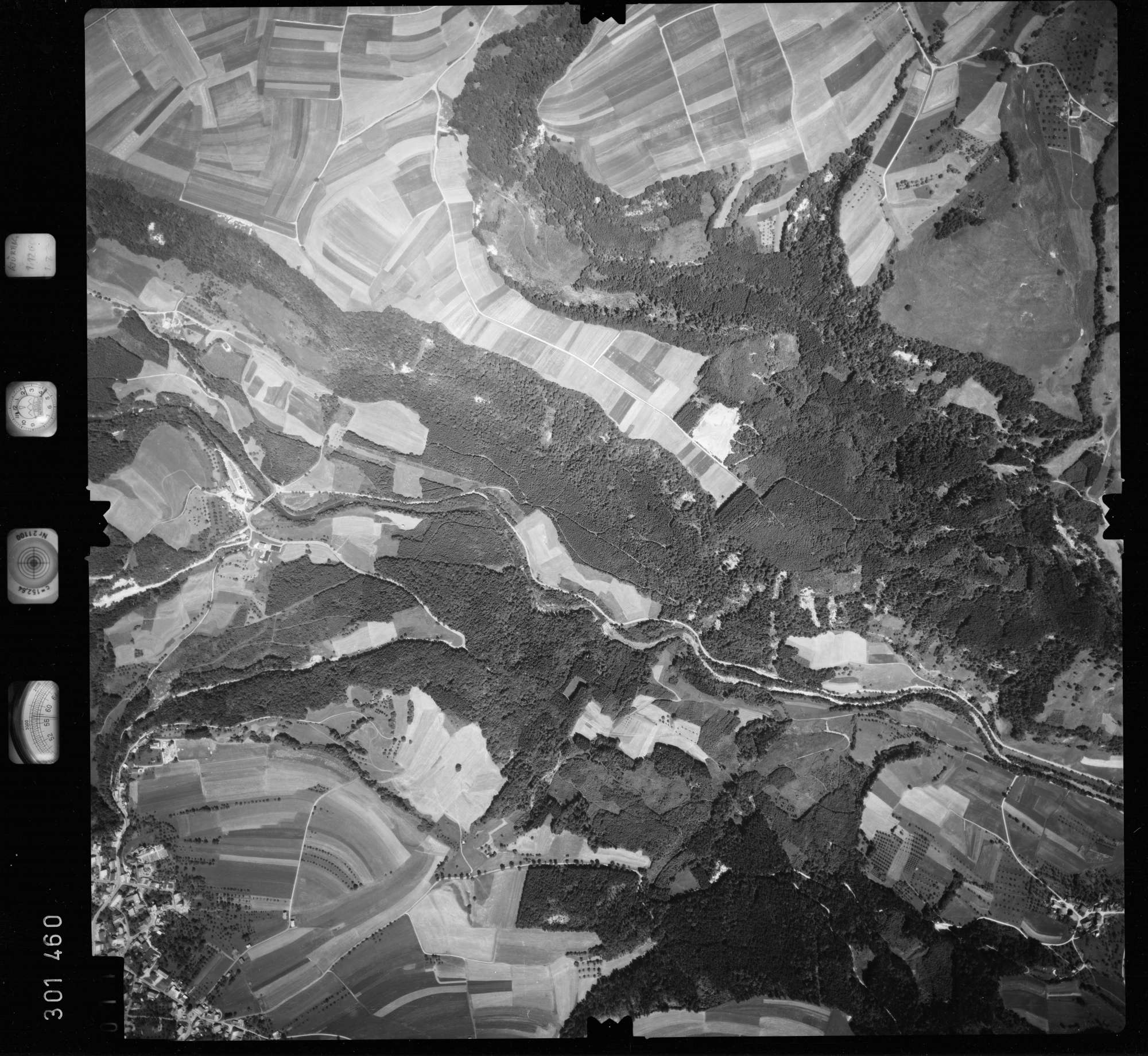Luftbild: Film 55 Bildnr. 11, Bild 1