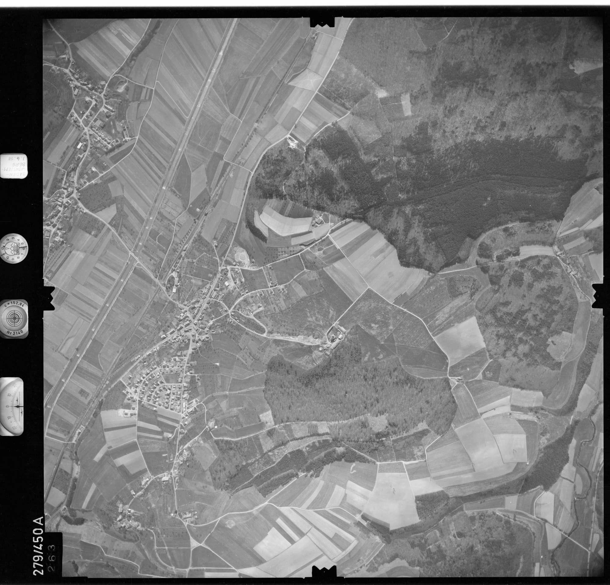 Luftbild: Film 78 Bildnr. 263, Bild 1