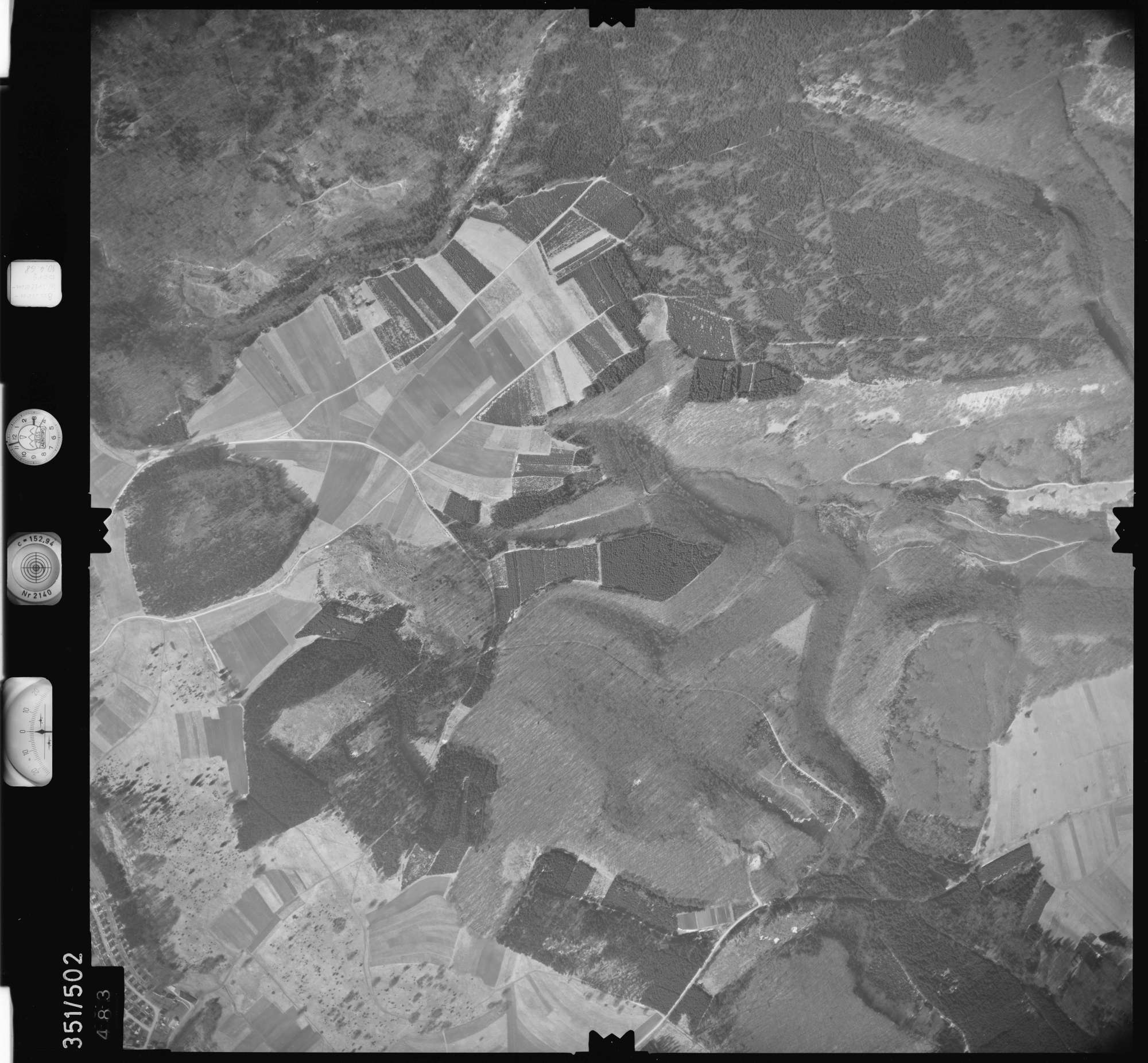 Luftbild: Film 41 Bildnr. 483, Bild 1