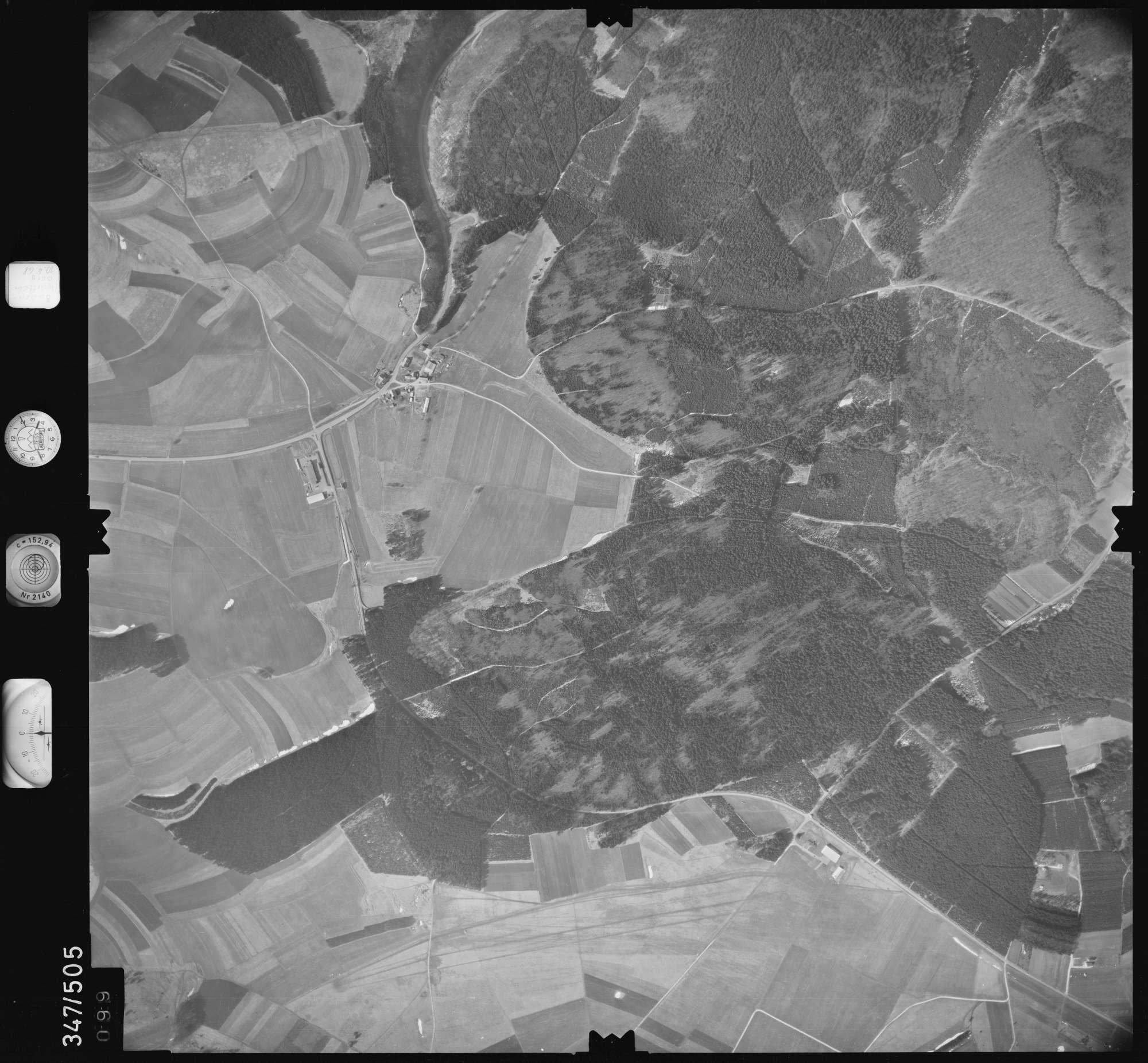 Luftbild: Film 43 Bildnr. 99, Bild 1